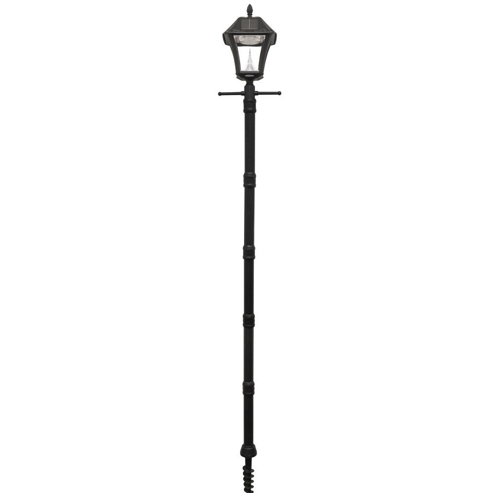 Favorite Solar – Post Lighting – Outdoor Lighting – The Home Depot Pertaining To Contemporary Solar Driveway Lights At Home Depot (View 11 of 20)