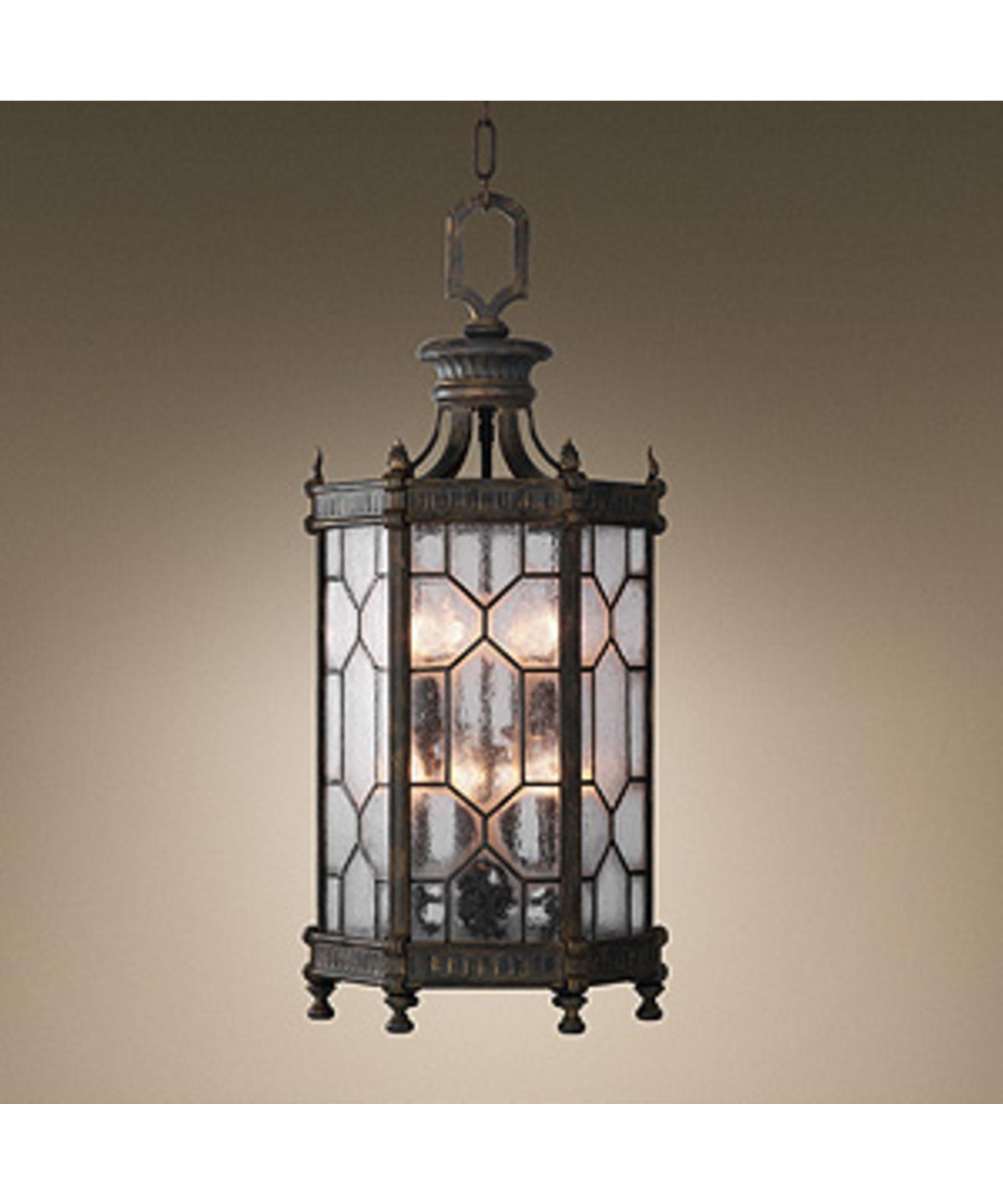 Fine Art Lamps 414282 Devonshire 16 Inch Wide 8 Light Outdoor For Most Current Led Outdoor Hanging Lanterns (View 5 of 20)