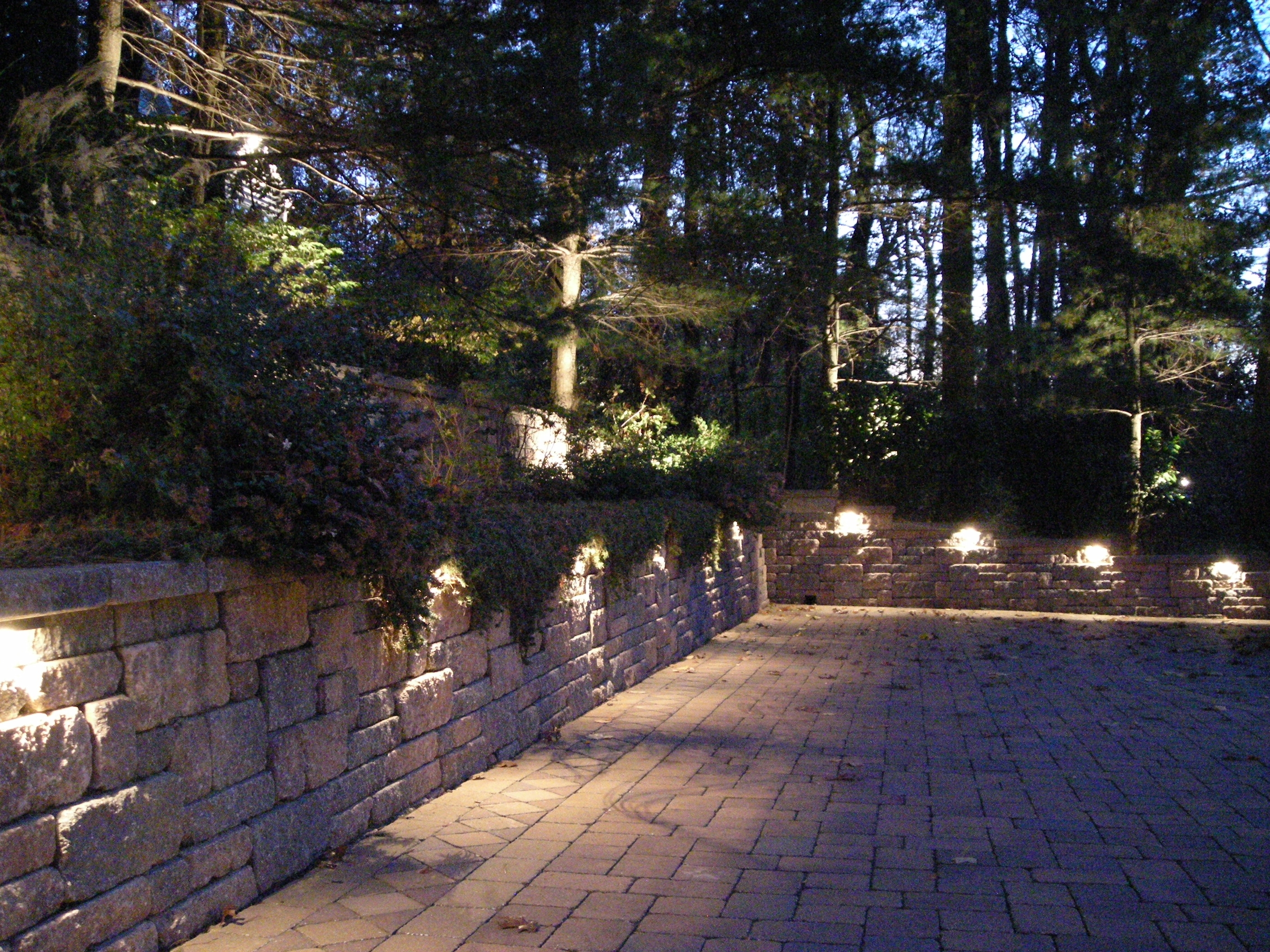 Fireplace : Low Voltage Wall Lights Mounted Outdoor Led Retaining Throughout Widely Used Outdoor Block Wall Lighting (View 5 of 20)
