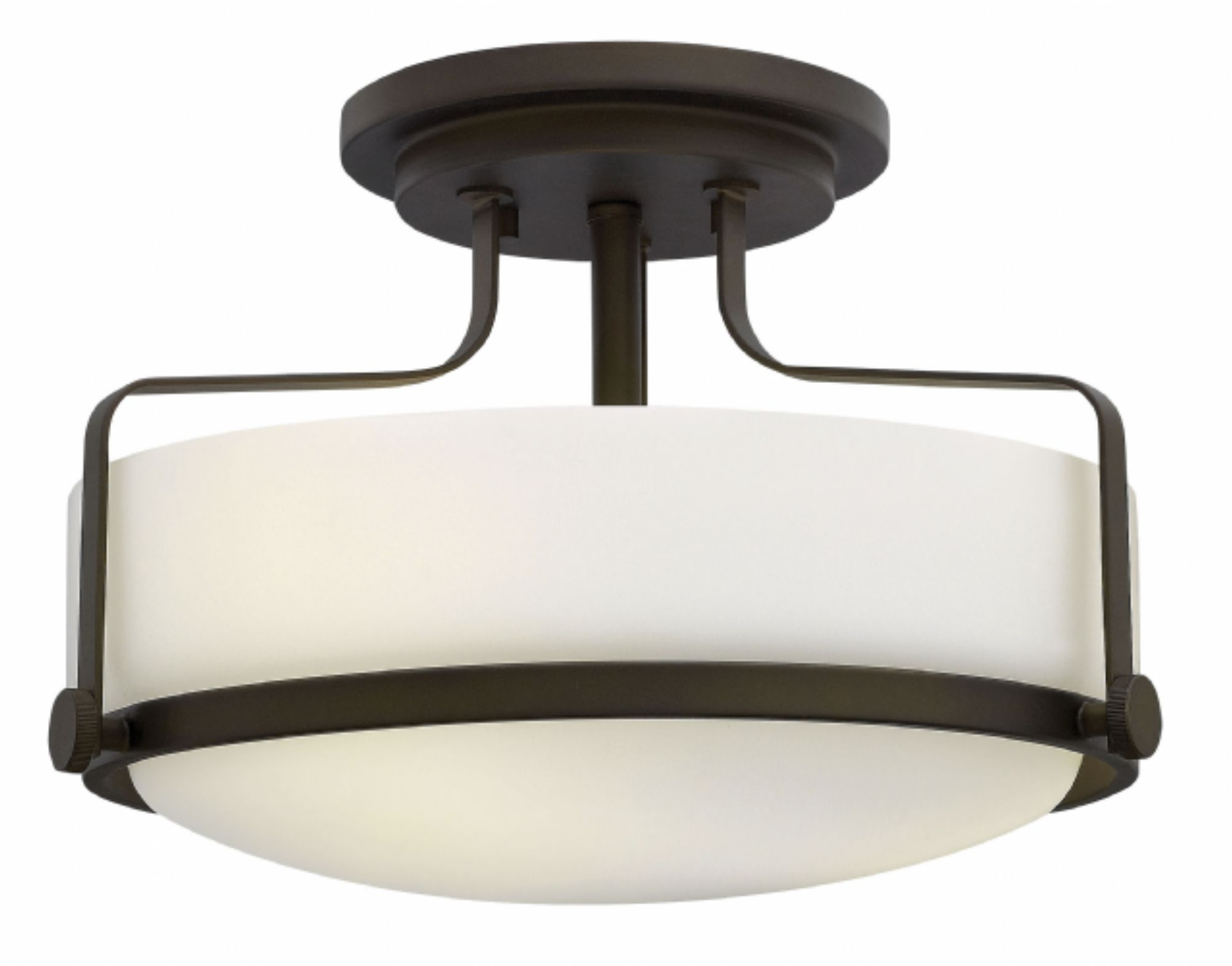 Flush Mount Hinkley Lighting With Regard To Preferred Oil Rubbed Bronze Harper > Interior Ceiling Mount (View 11 of 20)