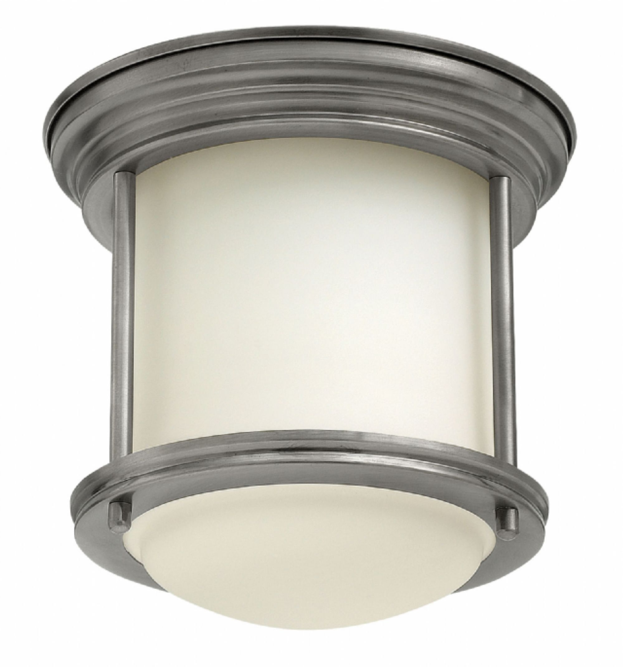 Flush Mount Hinkley Lighting With Regard To Well Liked Antique Nickel Hadley > Interior Ceiling Mount (View 12 of 20)