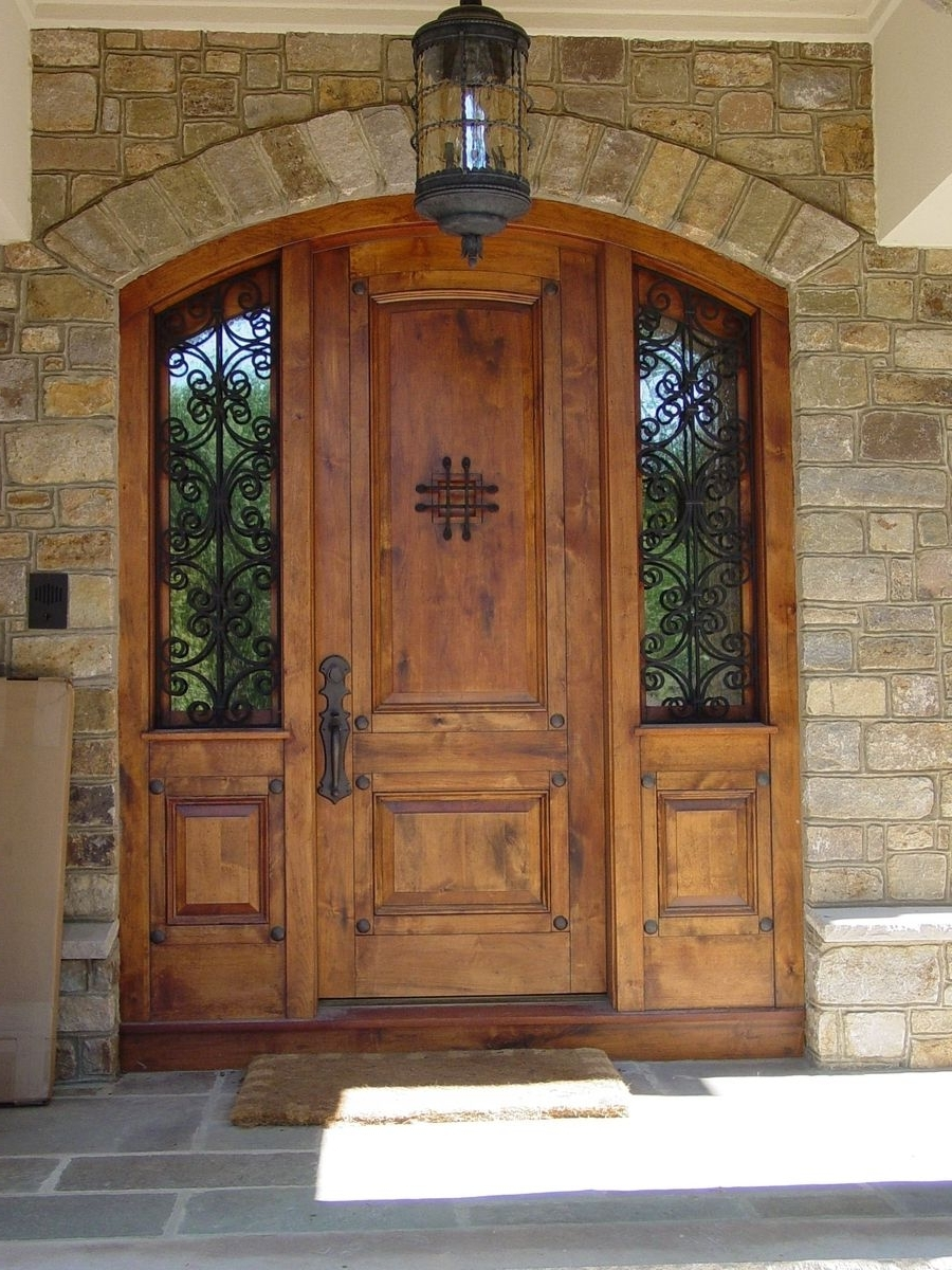 Front Entry, Doors And Throughout 2018 Front Door Outdoor Hanging Lights (View 6 of 20)