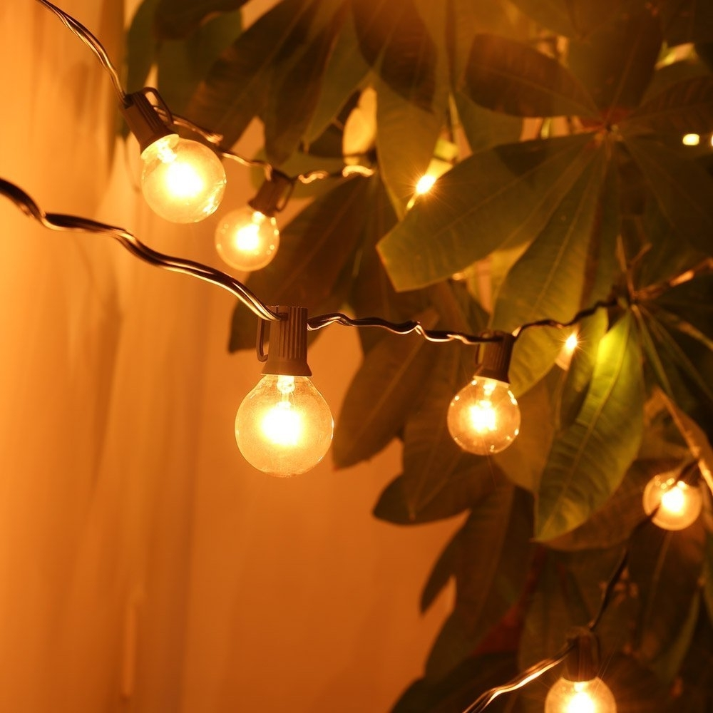 Furniture : Amazon Com Foot Patio Globe String Lights With Clear With Regard To Widely Used South Africa Outdoor Hanging Lights (View 9 of 20)