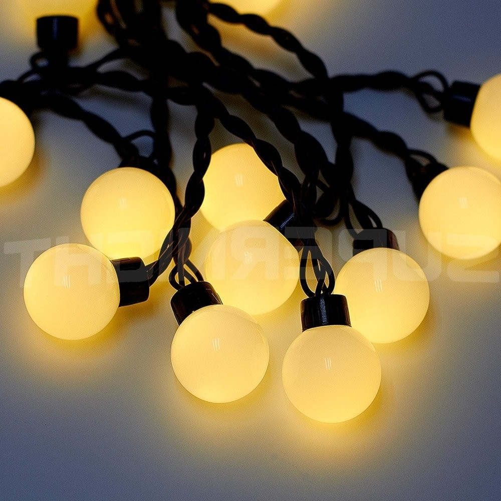 Furniture : Bulb String Lights Backyard Globe Lights' String Globes For Well Known 12 Volt Outdoor Hanging Lights (View 7 of 20)