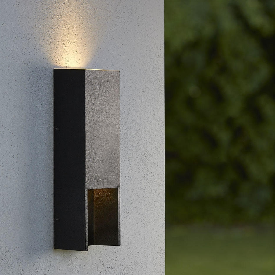 Featured Photo of Outdoor Led Wall Lights For House Sign With Door Number