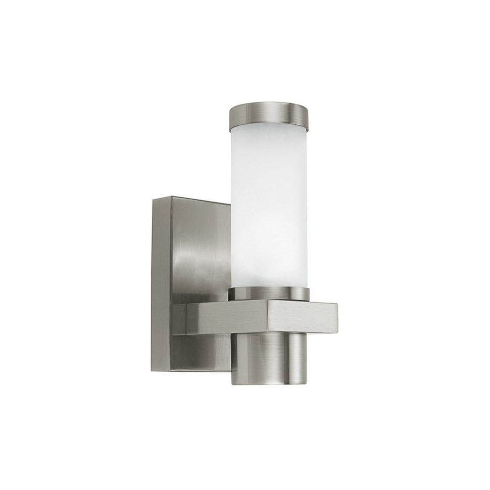 Furniture : Eglo Lighting Konya Modern Outdoor Steel Wall Light Regarding Newest Singapore Outdoor Wall Lighting (View 7 of 20)