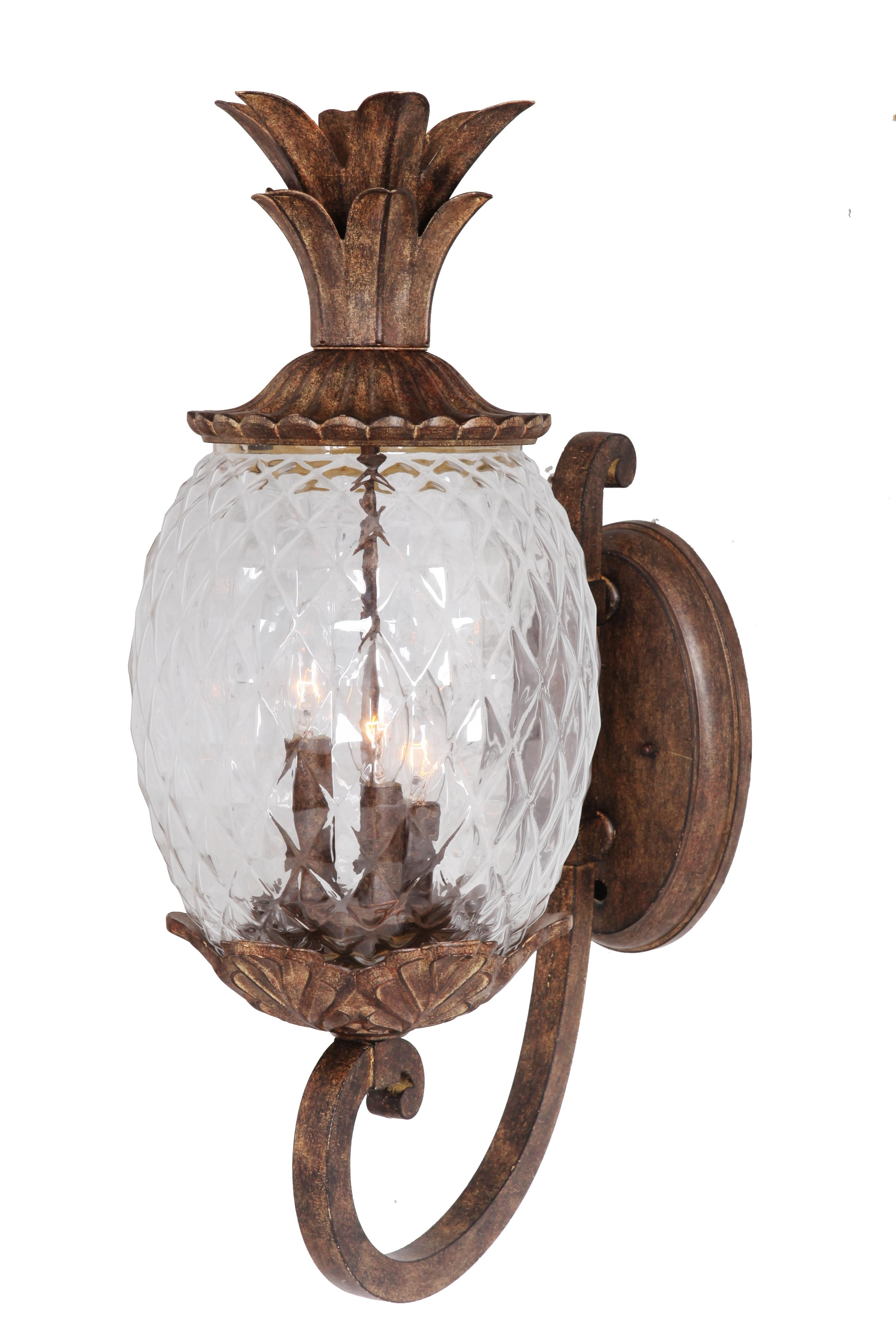 Furniture : Pineapple Outdoor Light Fixtures Excellent Wall Lighting Throughout Most Current Modern Outdoor String Lights At Wayfair (View 6 of 20)