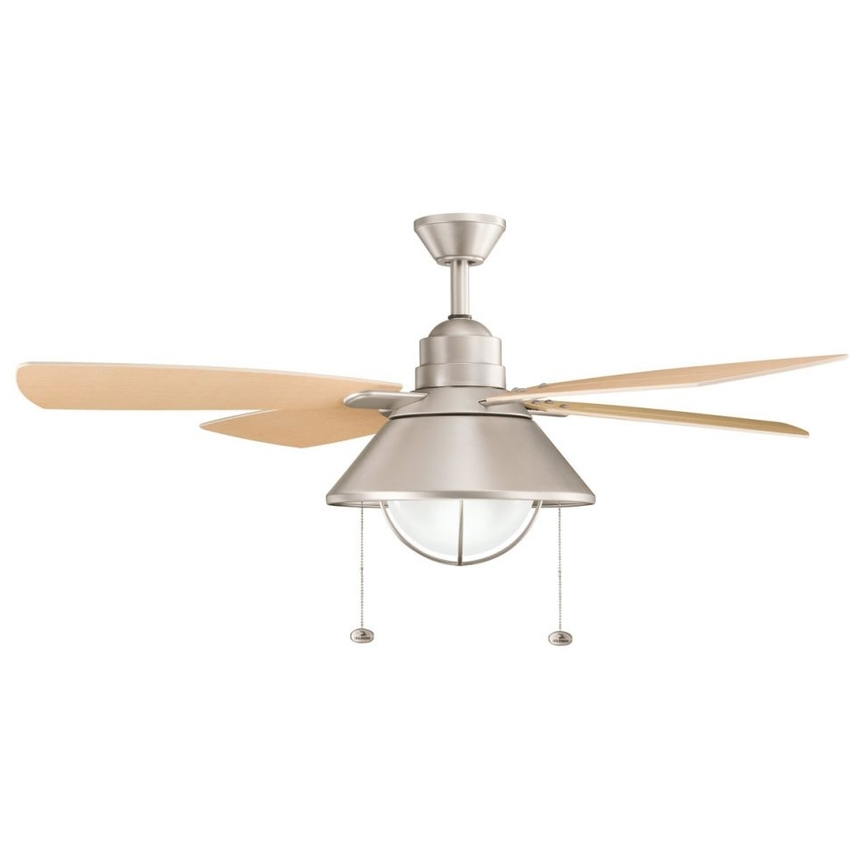 Galvanized Outdoor Ceiling Lights Throughout 2018 Ceiling Fans : Lowes Ceiling Lights Low Profile Fan Home Depot (Gallery 15 of 20)