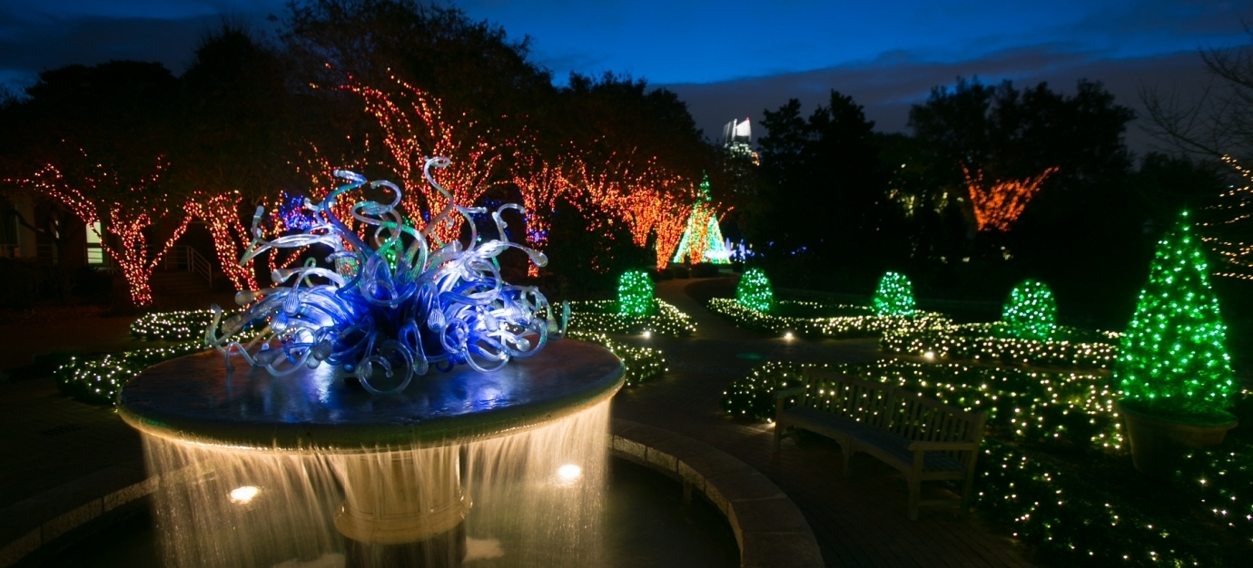 Garden Lights & Holiday Nights Close To West Midtown Homes Pertaining To Most Popular Botanical Garden Lights (Gallery 4 of 20)