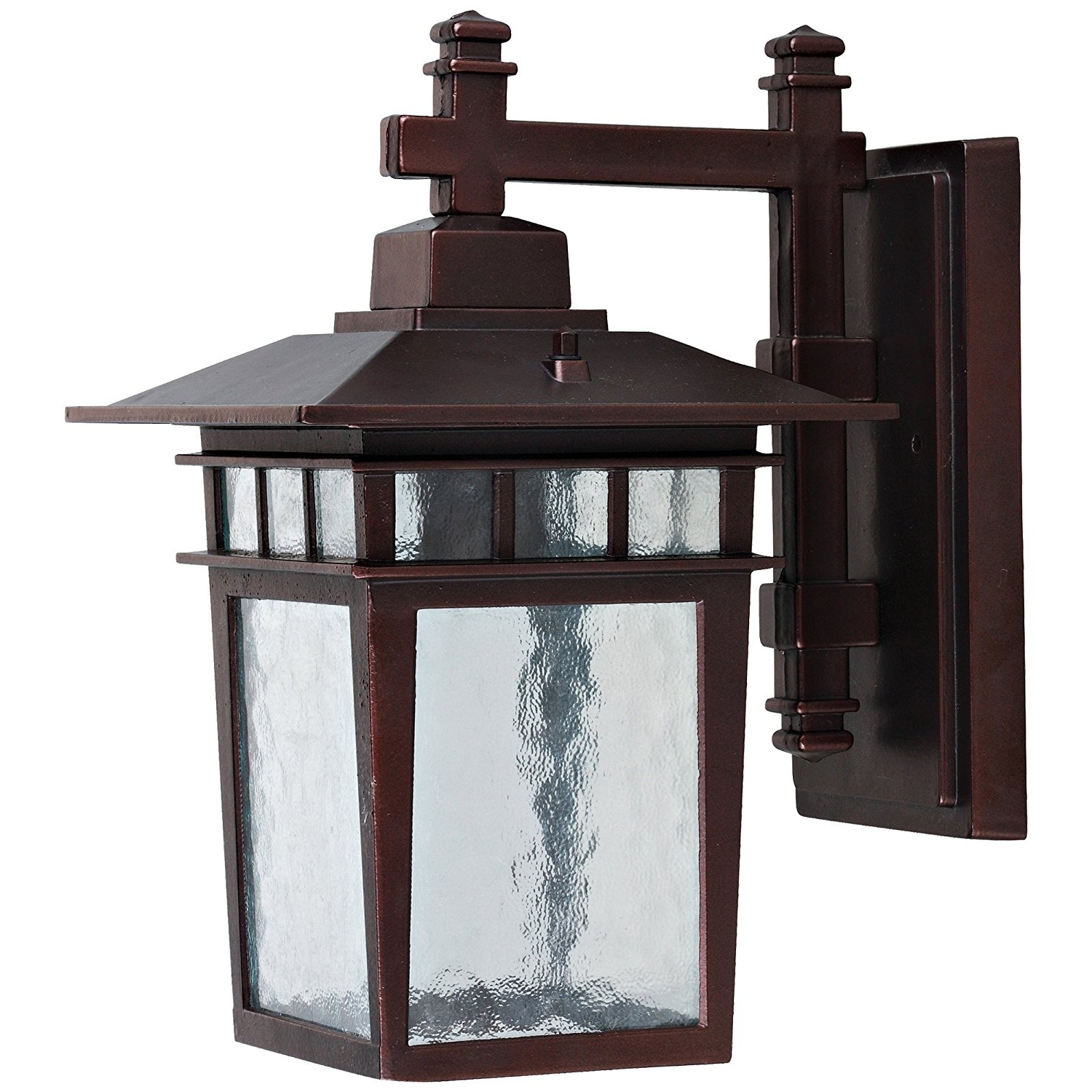 Garden Porch Light Fixtures At Wayfair Within Trendy Outdoor : Outside Wall Lamps Outdoor Sconce Light Fixtures Flush (View 12 of 20)