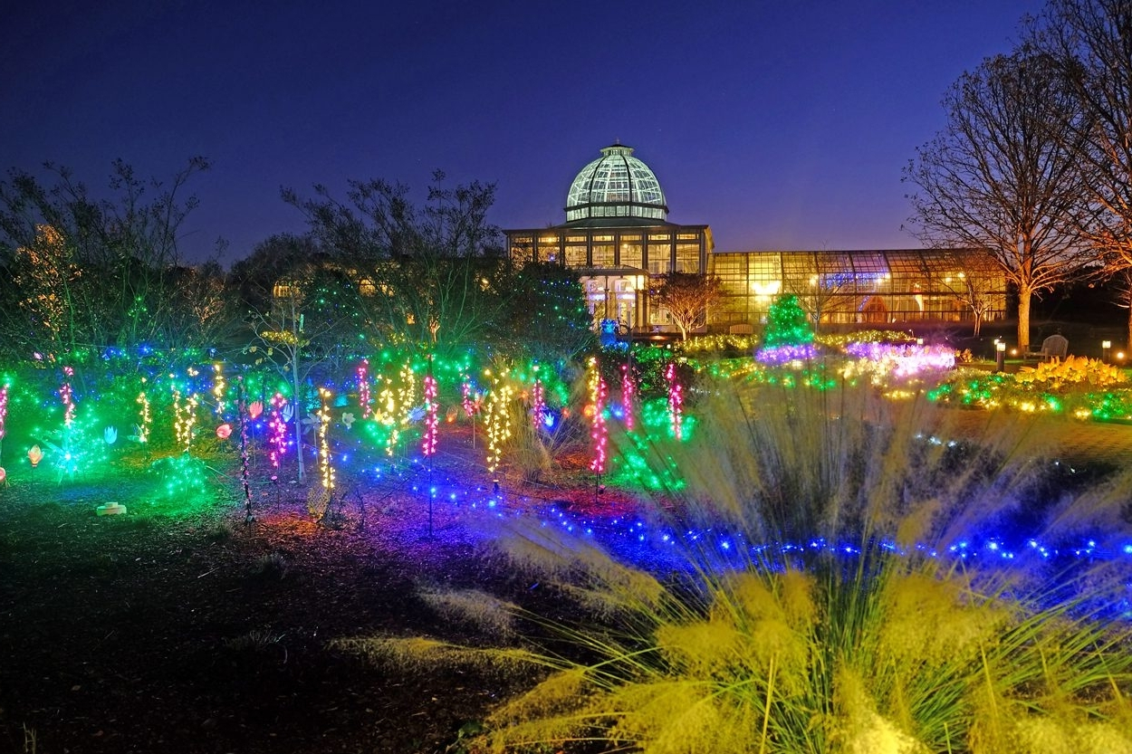 Gardenfest Of Lights At Lewis Ginter Botanical Garden Intended For 2018 Botanical Garden Lights (Gallery 18 of 20)