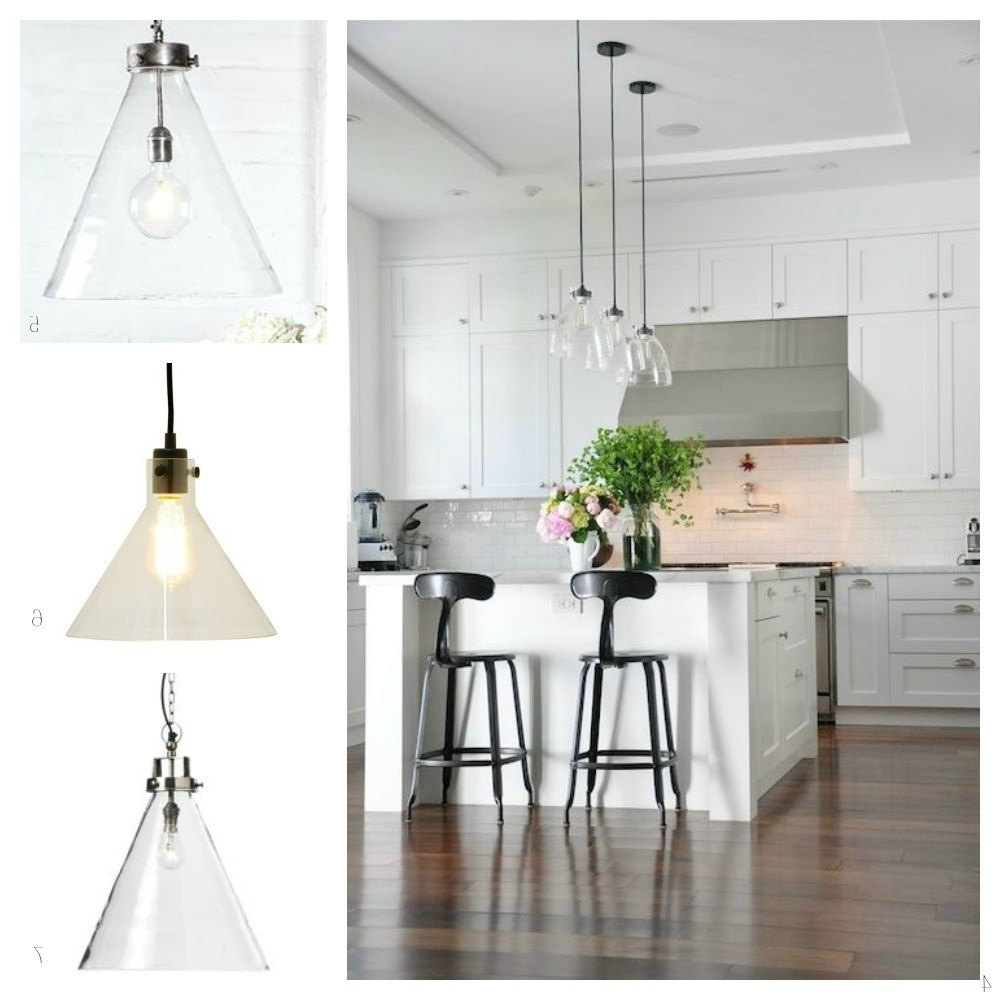Glass Pendant Lights For The Kitchen – Diy Decorator Inside Newest Outdoor Hanging Lights At Bunnings (Gallery 13 of 20)