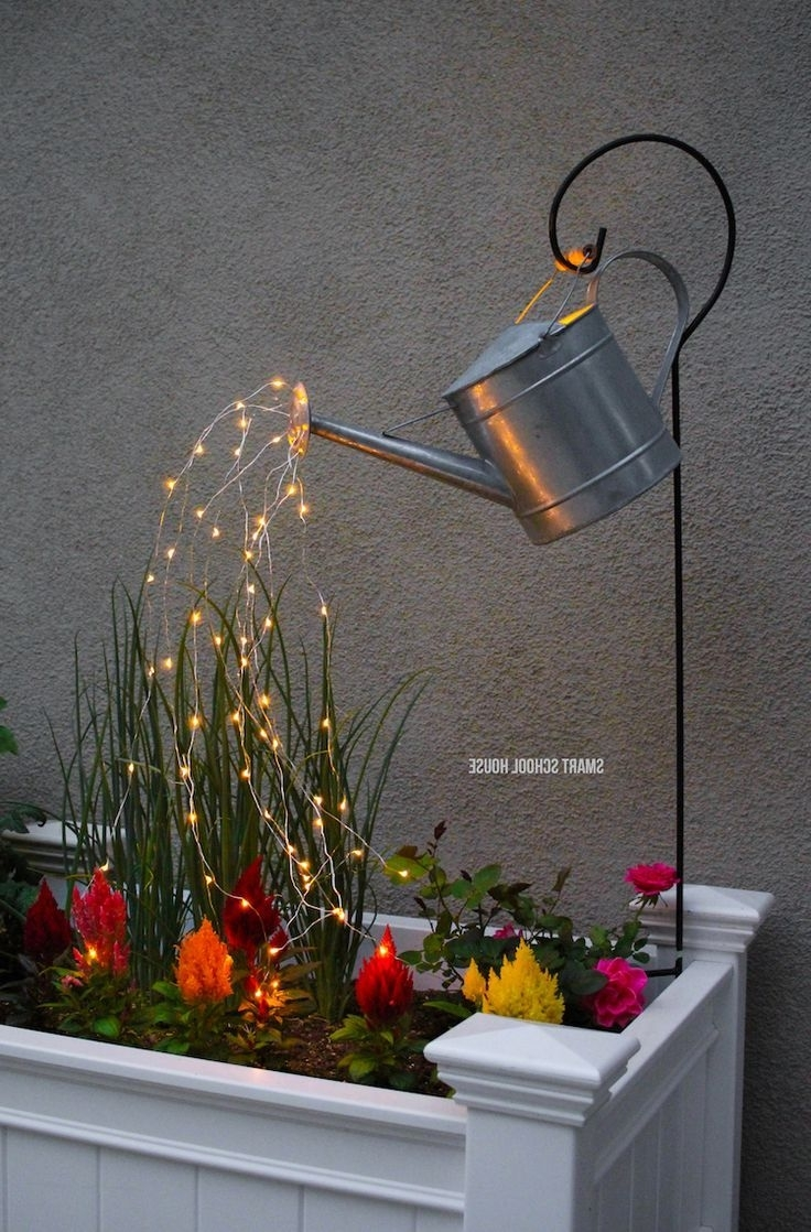Glow Water, Fairy And Water For 2019 Outdoor Hanging Basket Lights (View 5 of 20)