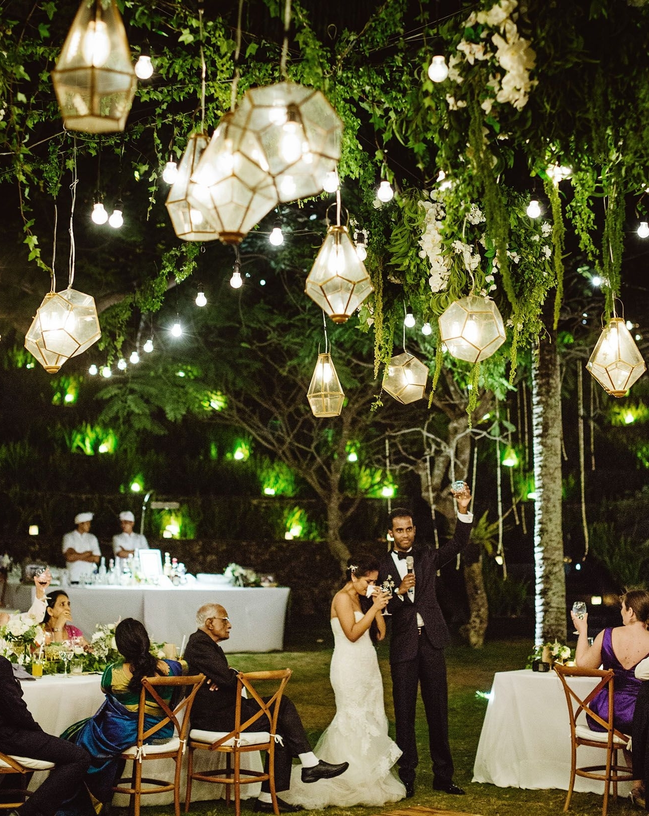 Gold Lanterns Intended For Fashionable Hanging Lights For Outdoor Wedding (Gallery 3 of 20)
