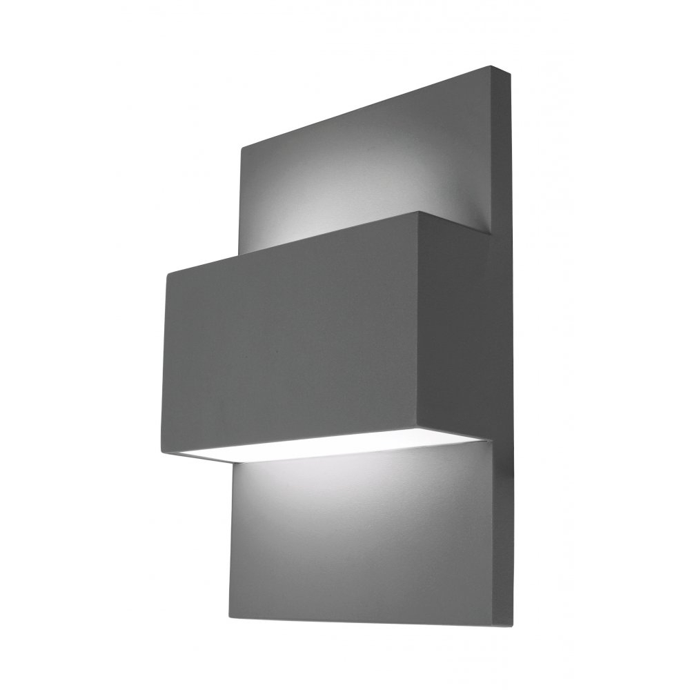 Grey Outdoor Wall Lights For Most Popular Most Suitable Outdoor Wall Lights (View 4 of 20)