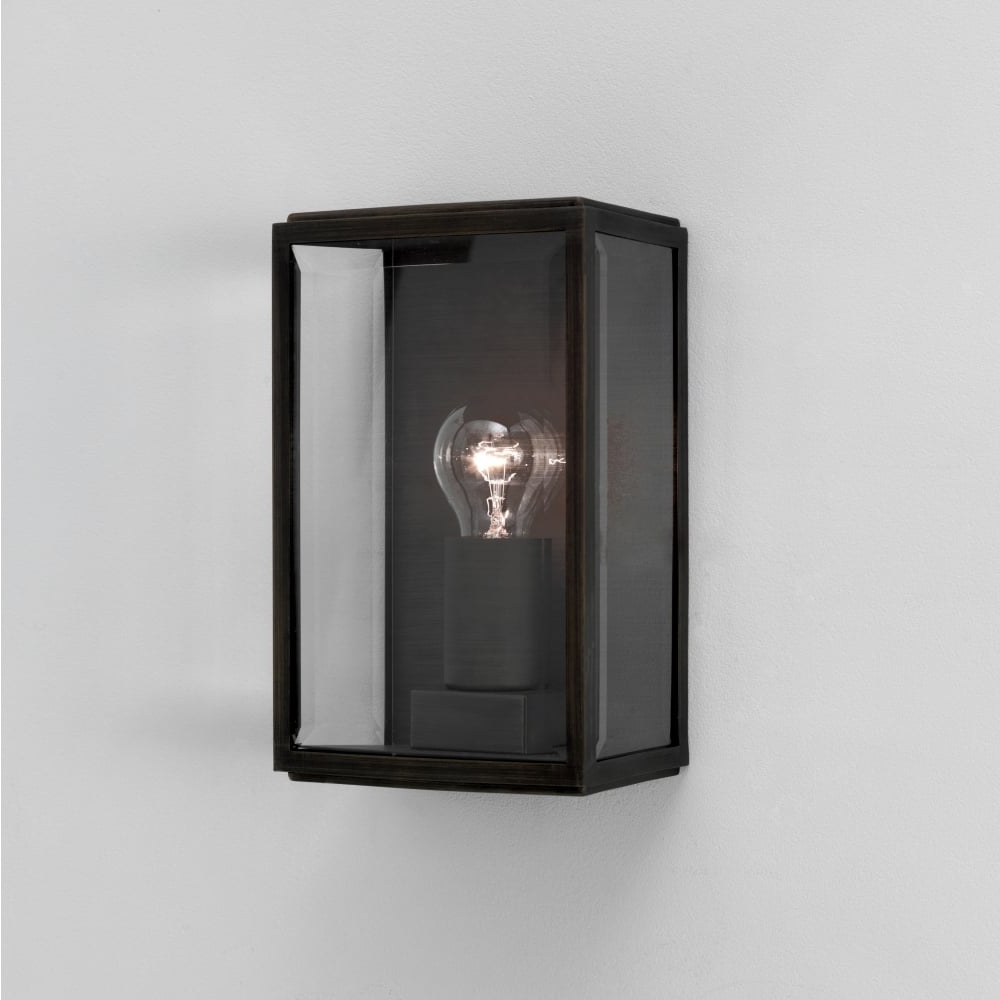 Grey Outdoor Wall Lights Inside Well Known Astro Homefield 0483 Square Outdoor Wall Light (View 5 of 20)