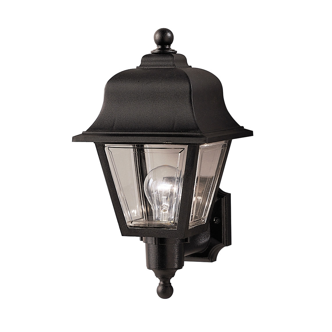 Half Lantern Outside Wall Lights For Current Light : Great Outdoor Wall Light With Pir Sensor For Your Blue (View 5 of 20)