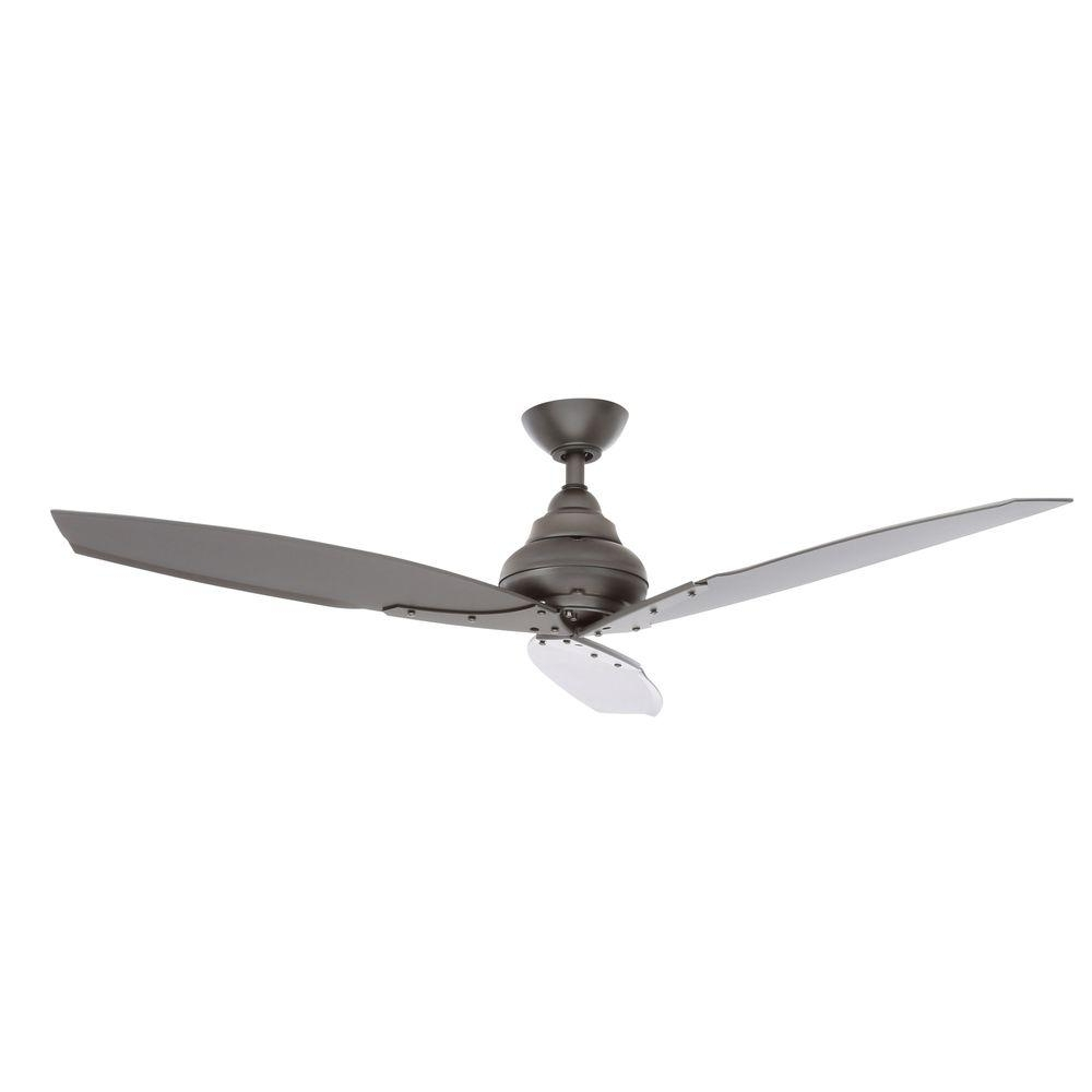 Hampton Bay – Ceiling Fans – Lighting – The Home Depot For Current Outdoor Ceiling Fan Lights With Remote Control (View 7 of 20)