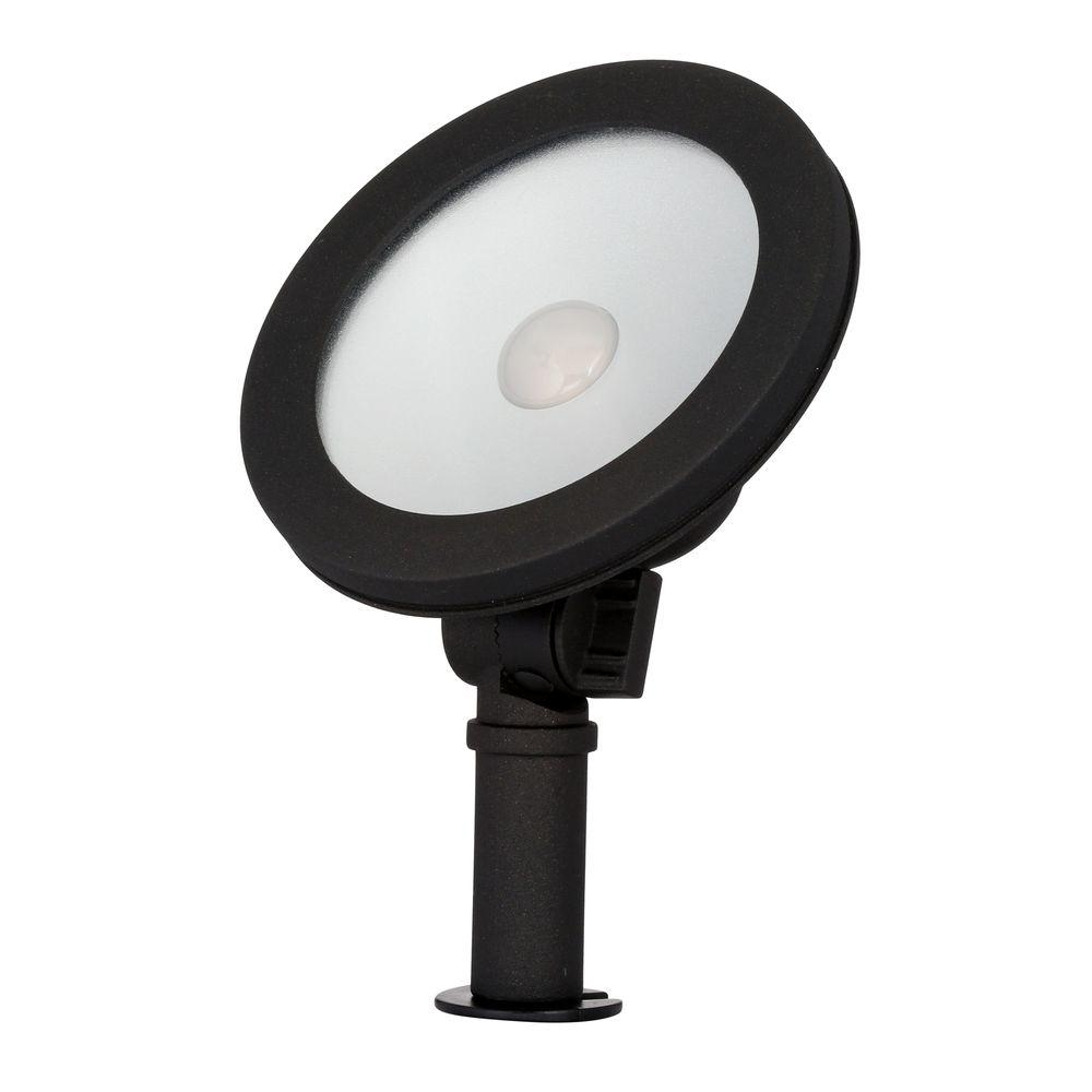 Hampton Bay Low Voltage 50 Watt Equivalent Black Outdoor Integrated With Regard To Most Up To Date Outdoor Wall Washer Led Lights (View 9 of 20)