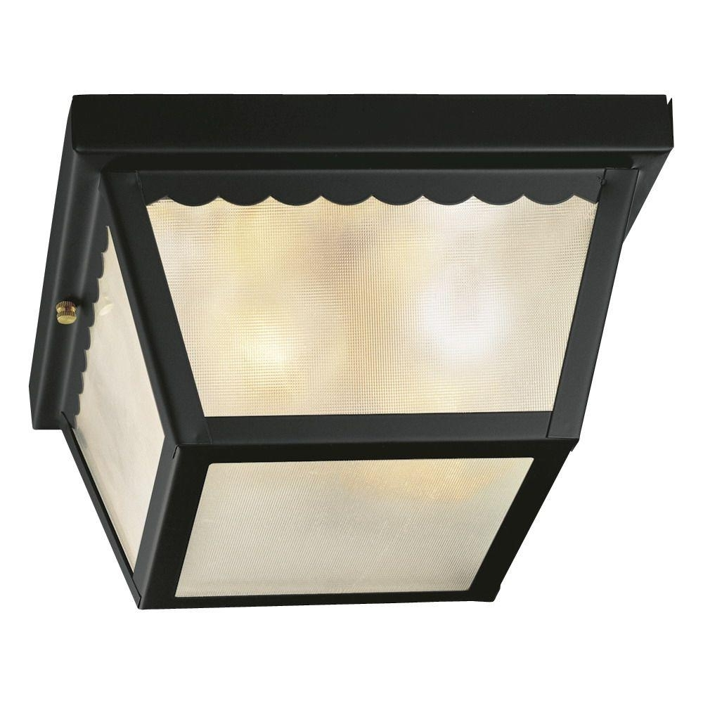 Hampton Bay – Outdoor Ceiling Lighting – Outdoor Lighting – The Home Pertaining To Popular Hampton Bay Outdoor Ceiling Lights (View 8 of 20)
