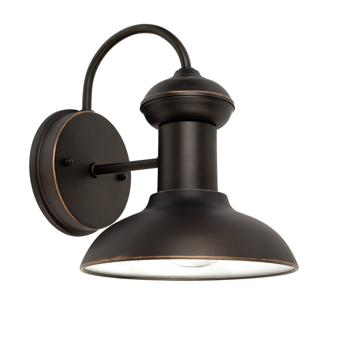 Hampton Bay Outdoor Lighting At Wayfair In Best And Newest Outdoor Wall Lighting & Barn Lights You'll Love (View 11 of 20)