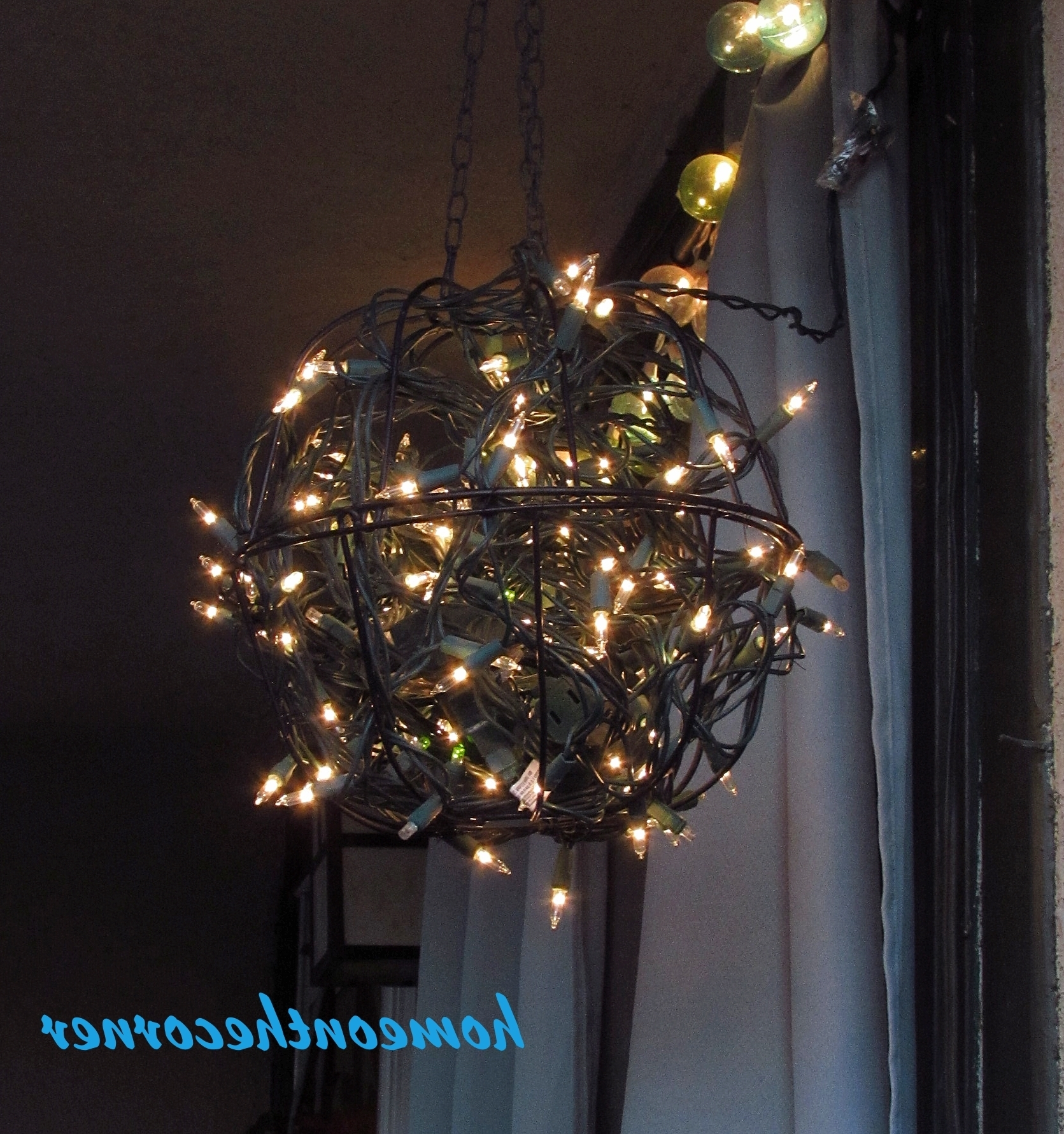 Hanging Flower Basket Light – Home On The Corner In Current Outdoor Hanging Basket Lights (View 6 of 20)