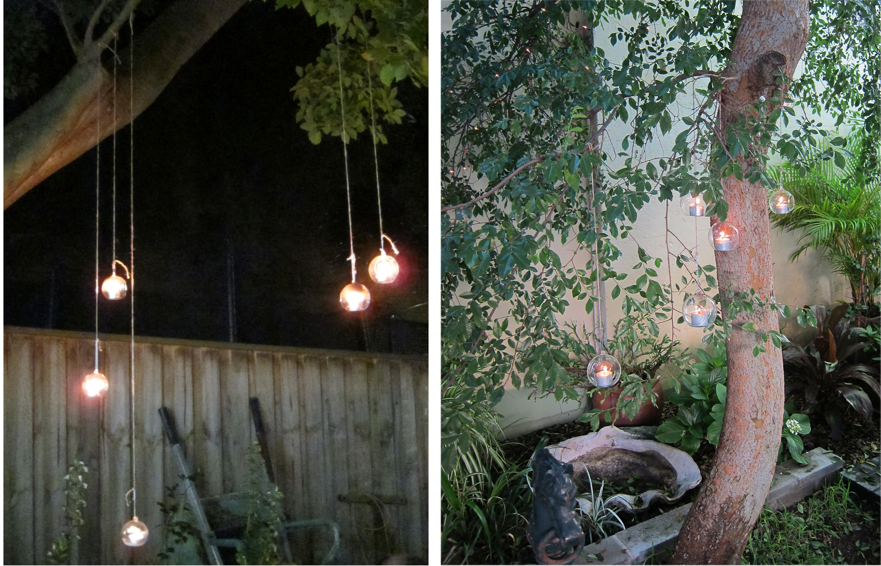 Hanging Glass Teardrop Candle Holders – Lighting Outdoor Areas Pertaining To Fashionable Outdoor Hanging Tea Lights (View 6 of 20)