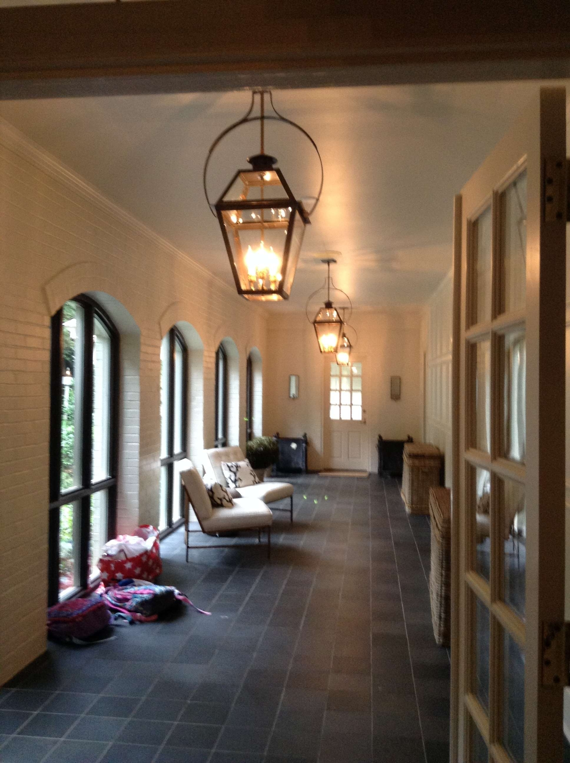 Hanging Outdoor Entrance Lights Intended For Most Recently Released Charleston Collection (View 3 of 20)