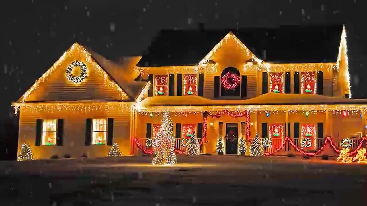 Hanging Outdoor Holiday Lights Intended For Widely Used Outdoor Christmas Lighting Decorations Ideas For Home, Office Back (View 10 of 20)