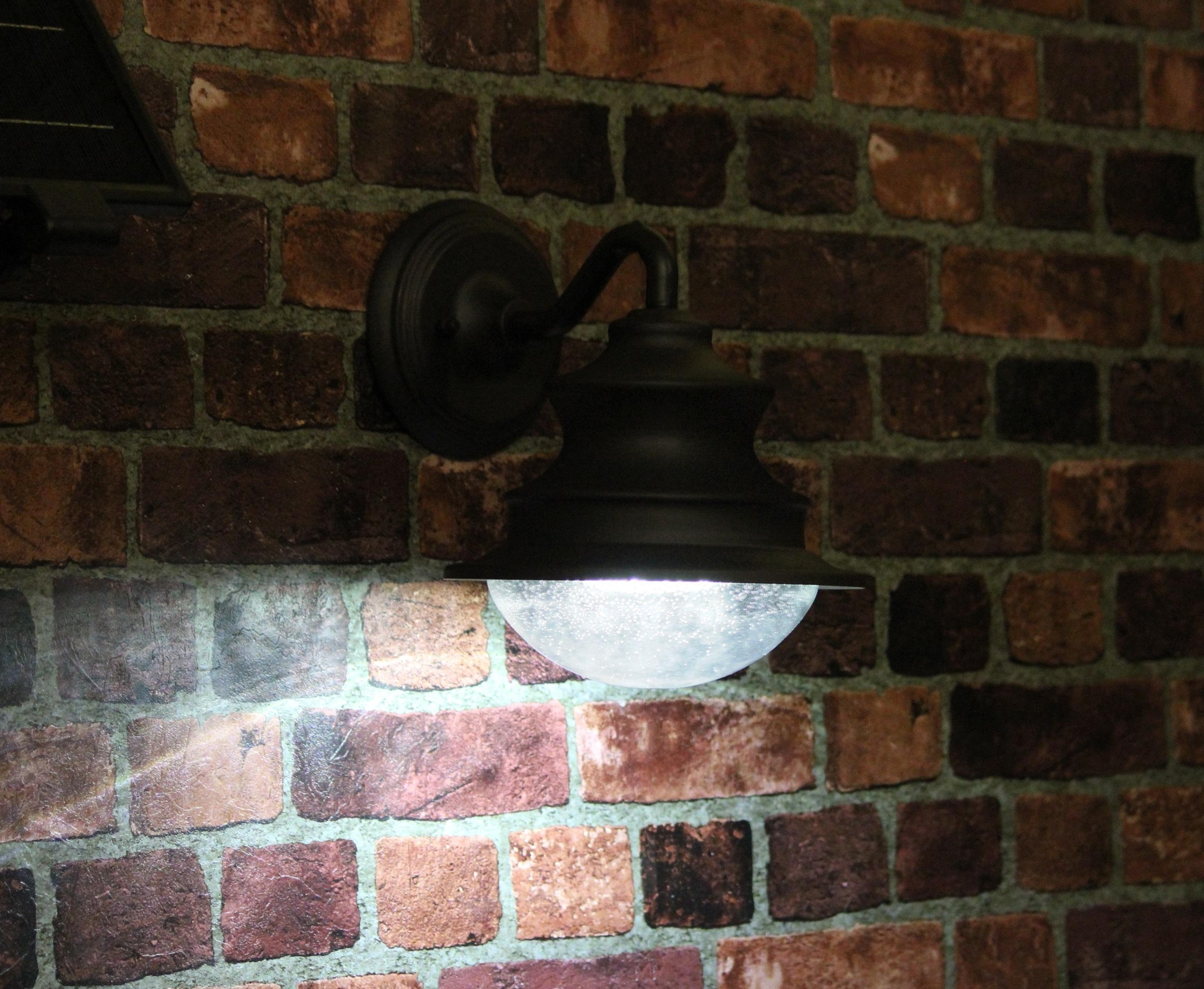 Hanging Outdoor Lights On Brick In Favorite Lovely Antique Hanging On The Wall Outdoor Lighting Fixture Using (Gallery 13 of 20)