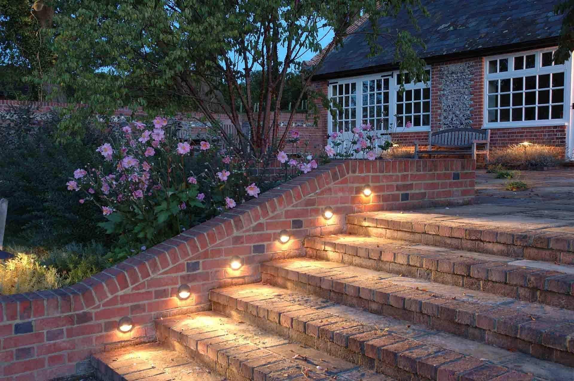 Hanging Outdoor Lights On Brick Inside Trendy Outdoor Globe String Lights Ideas And Pictures Hanging With Black (Gallery 18 of 20)