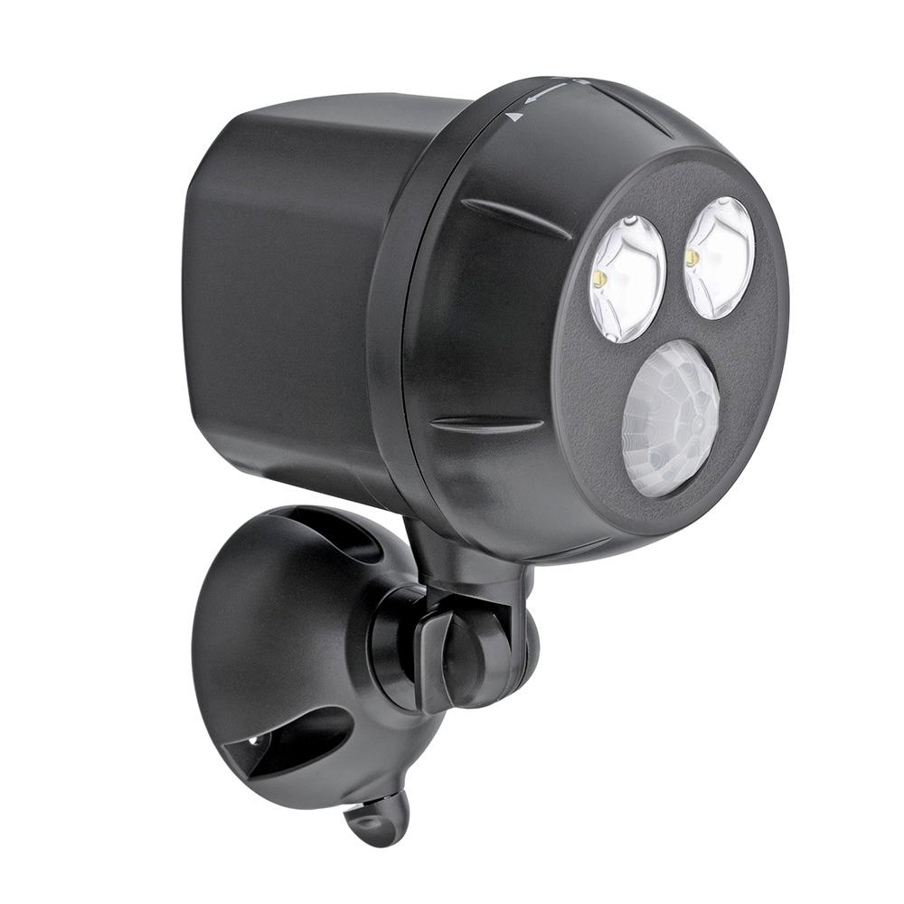 Hanging Outdoor Security Lights Throughout Most Current Mr Beams 400 Lumen Outdoor Brown Weatherproof Wireless Battery (View 9 of 20)