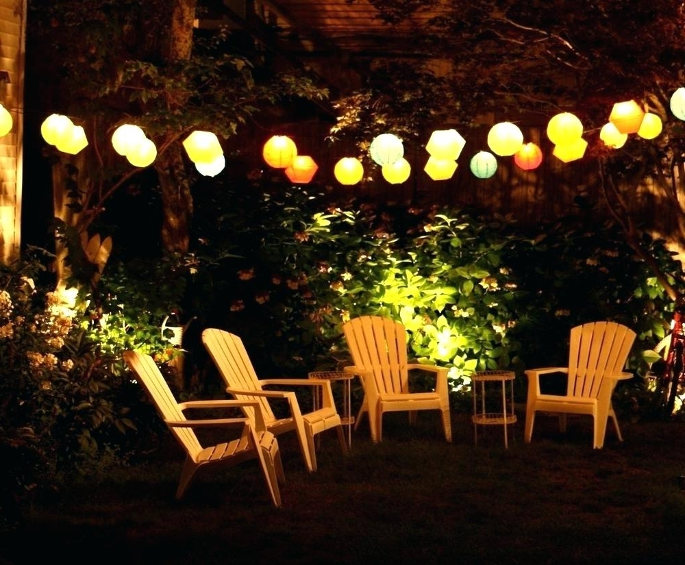Hanging Patio Lights Amazon Outdoor String On Stucco – Demandit Inside Recent Outdoor String And Patio Lights (View 7 of 20)