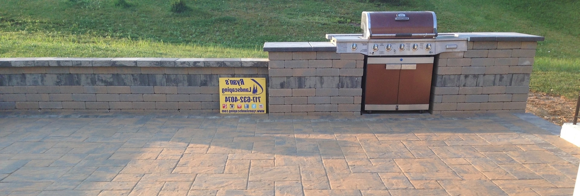 Hanover, Pa Patios & Retaining Walls Intended For 2018 Outdoor Block Wall Lighting (View 6 of 20)
