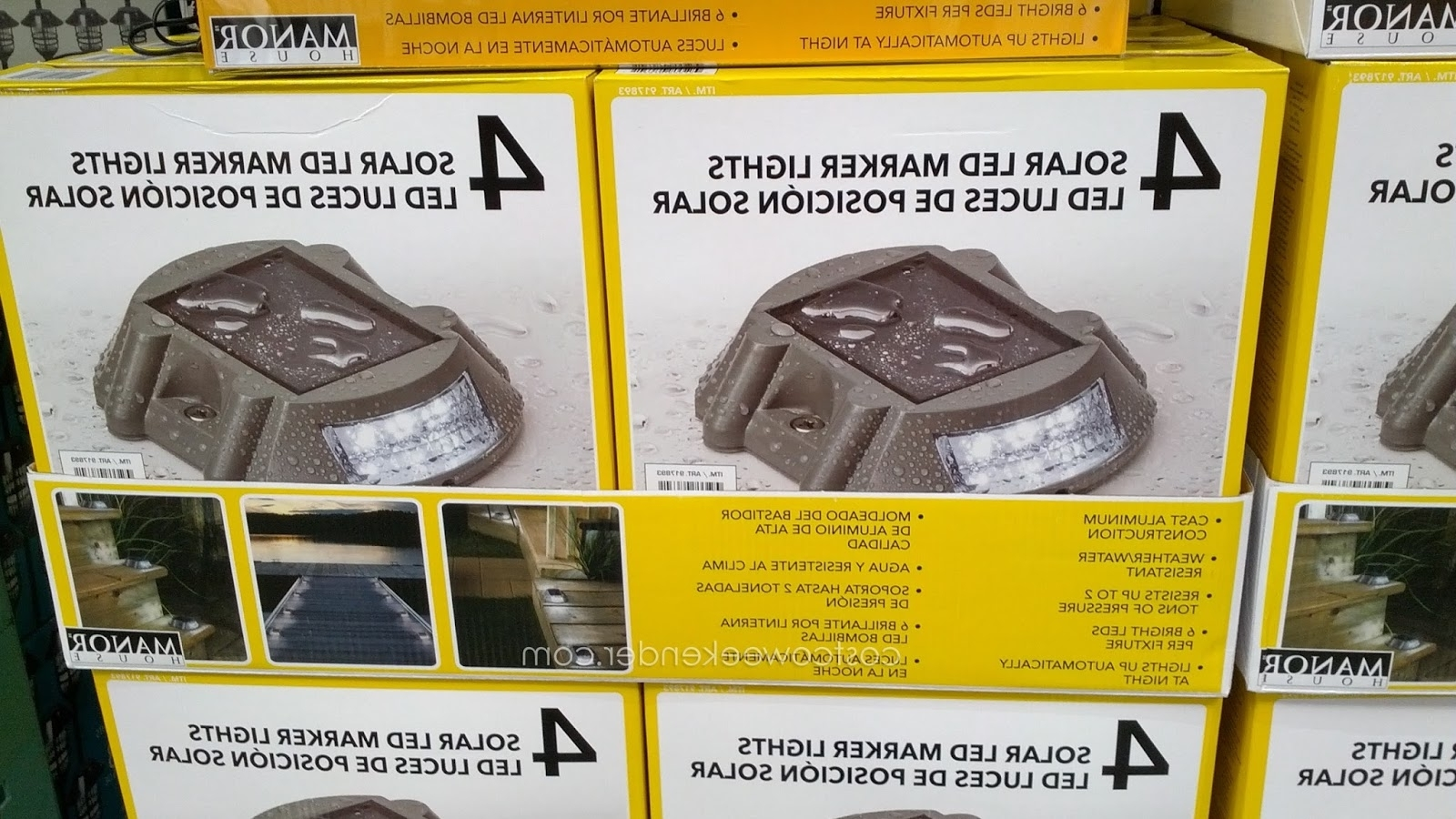 Hardware & Home Improvement With Solar Garden Lights At Costco (View 7 of 20)