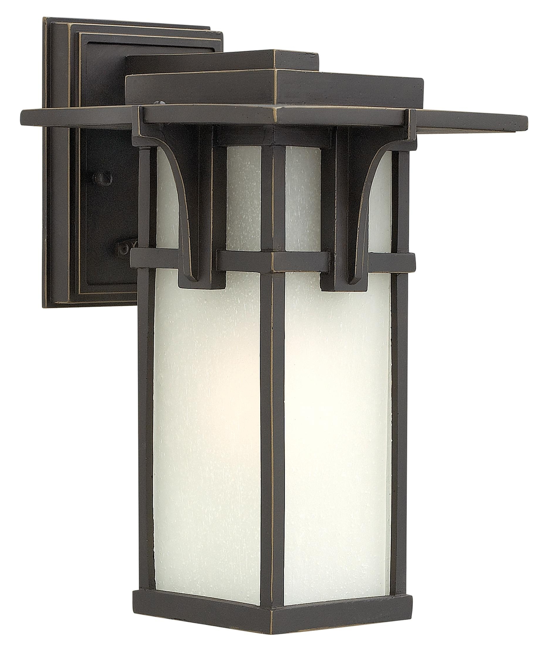 High End Outdoor Wall Lighting In Well Known Hinkley Lighting 2230 Manhattan 7 Inch Wide 1 Light Outdoor Wall (View 9 of 20)
