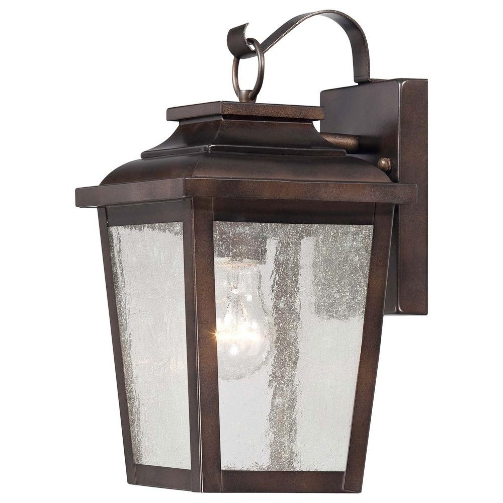 High End Outdoor Wall Lighting Pertaining To 2018 The Great Outdoorsminka Lavery Irvington Manor 1 Light Chelsea (View 15 of 20)