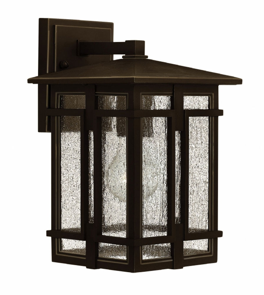 Hinkley 1960Oz Tucker Traditional Oil Rubbed Bronze Exterior Throughout Trendy Oil Rubbed Bronze Outdoor Wall Lights (View 5 of 20)