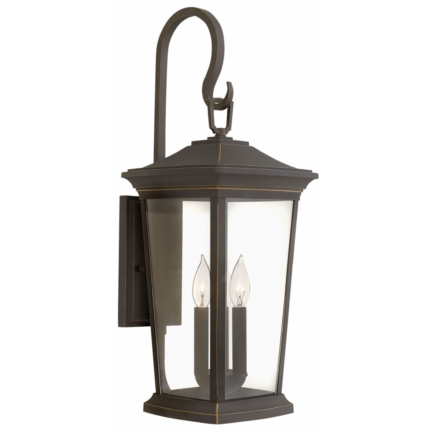Hinkley 2366Oz Bromley 3 Light Outdoor Medium Wall Mount In Oil Throughout Latest Modern Latern Hinkley Lighting (View 20 of 20)