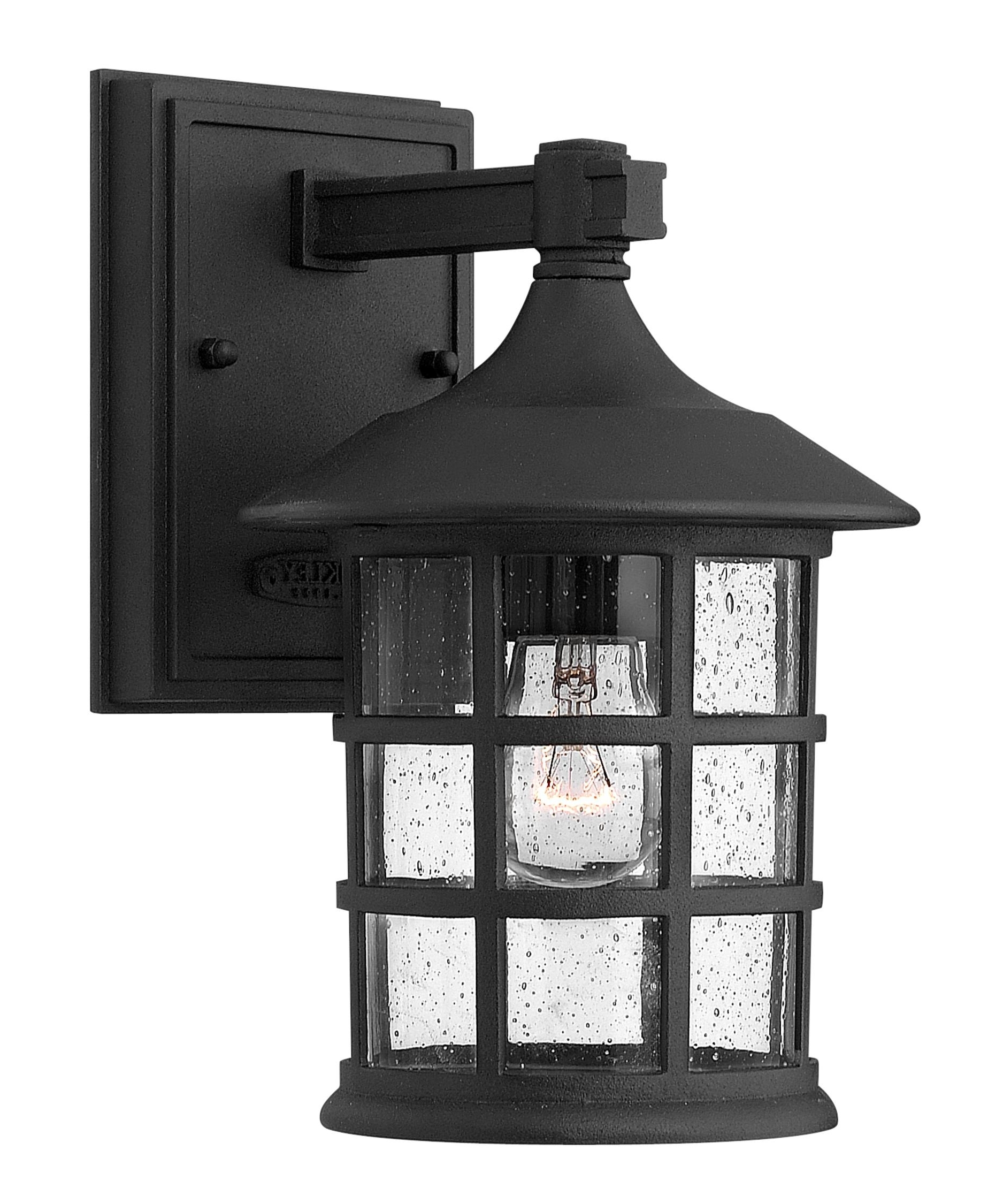 Hinkley Lighting 1800 Freeport 6 Inch Wide 1 Light Outdoor Wall Regarding Most Recently Released Outdoor Wall Lights In Black (View 6 of 20)