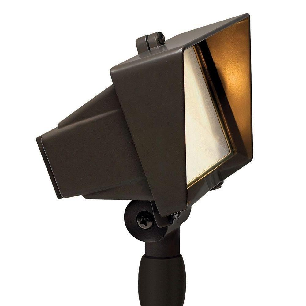 Hinkley Lighting For Home Garden With Popular Hinkley Lighting Low Voltage 50 Watt Bronze Outdoor Flood Light (View 17 of 20)