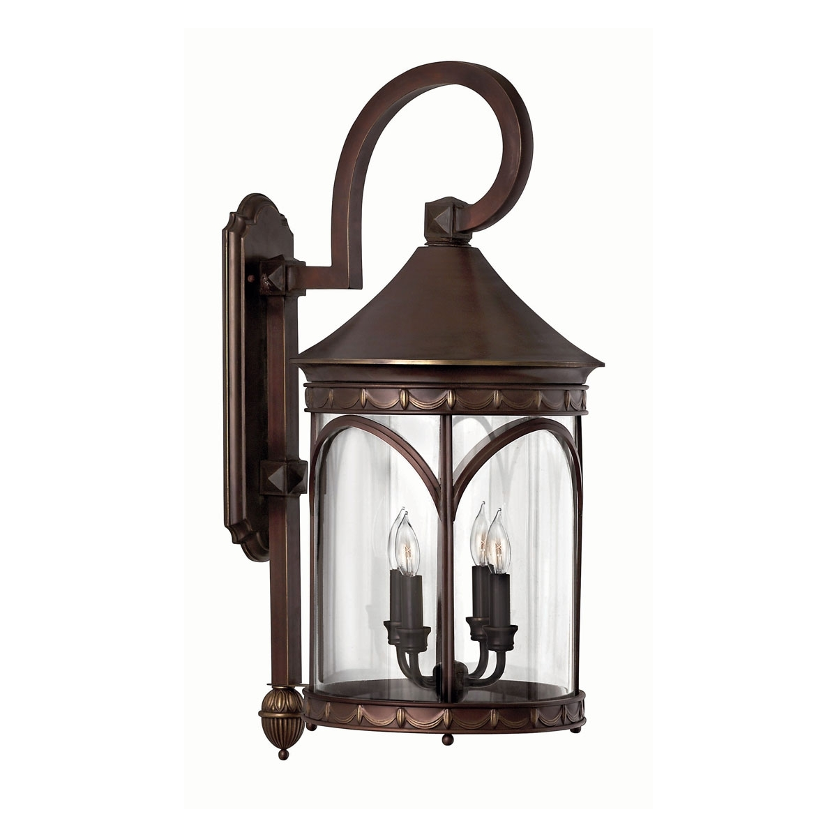Hinkley Outdoor Ceiling Lights Regarding Latest 2315Cb – Large Wall Outdoor Light, 30 Inch, Lucerne Copper Bronze (Gallery 18 of 20)