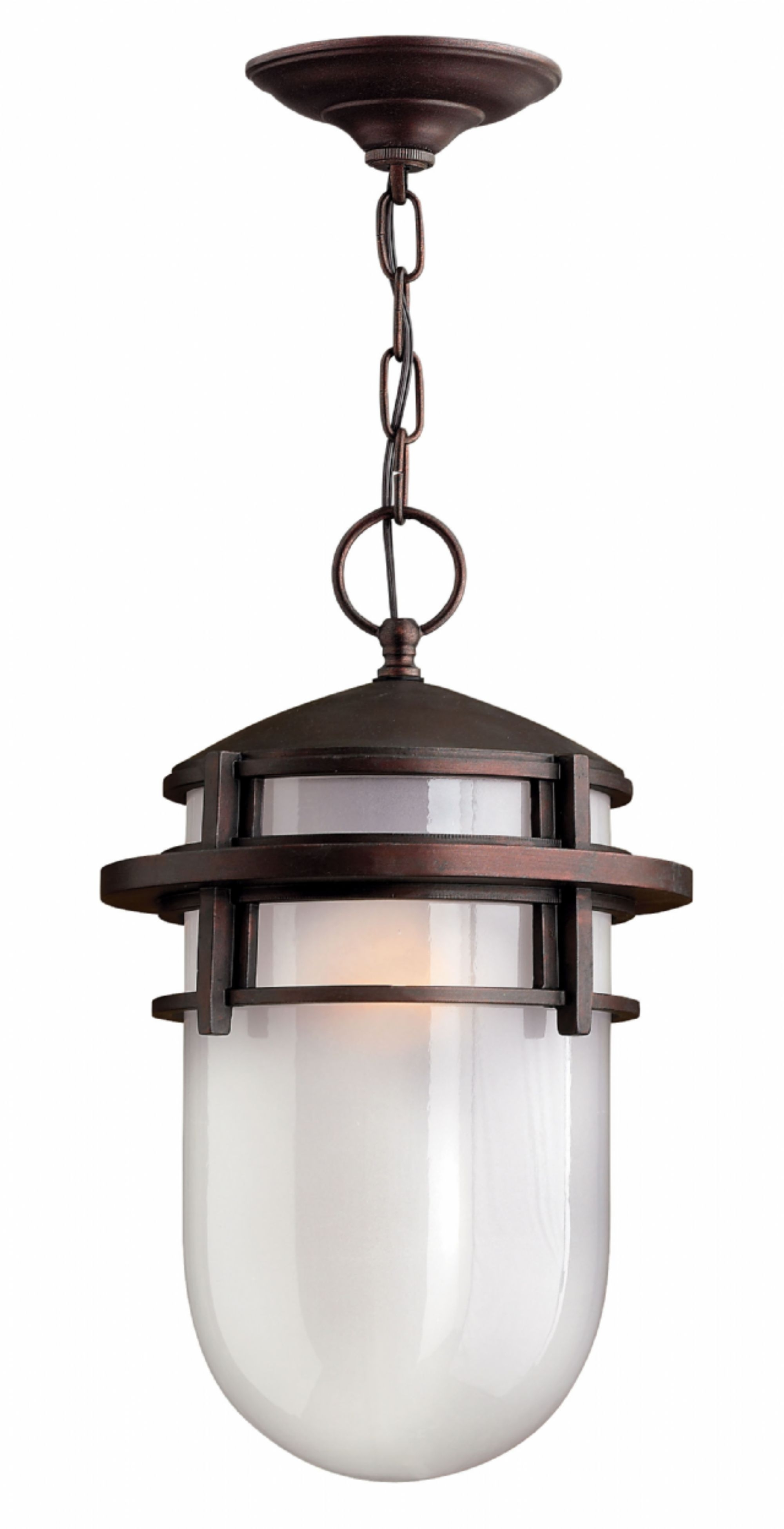 Hinkley Outdoor Hanging Lights With Best And Newest Victorian Bronze Reef > Exterior Ceiling Mount (View 18 of 20)