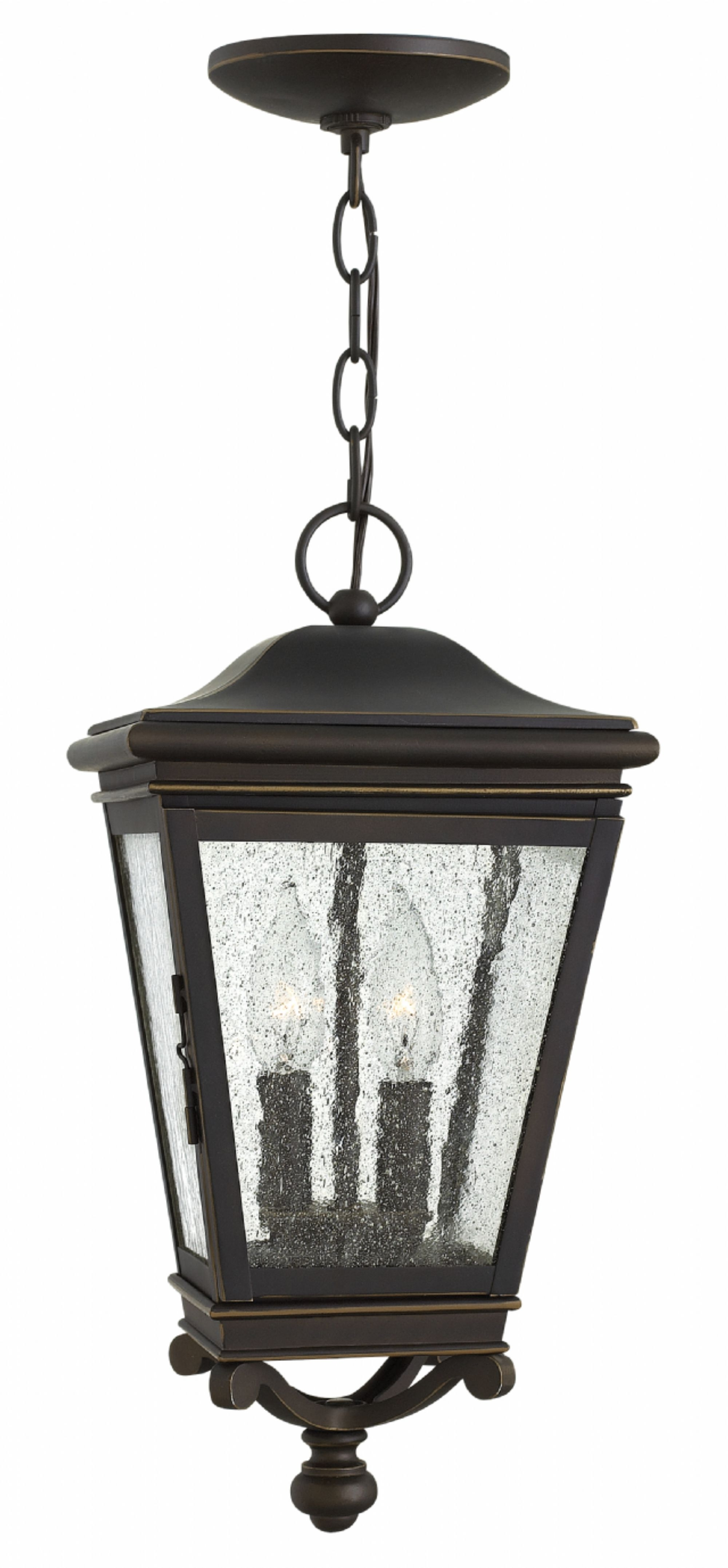 Hinkley Outdoor Hanging Lights With Regard To Favorite Oil Rubbed Bronze Lincoln > Exterior Ceiling Mount (View 9 of 20)