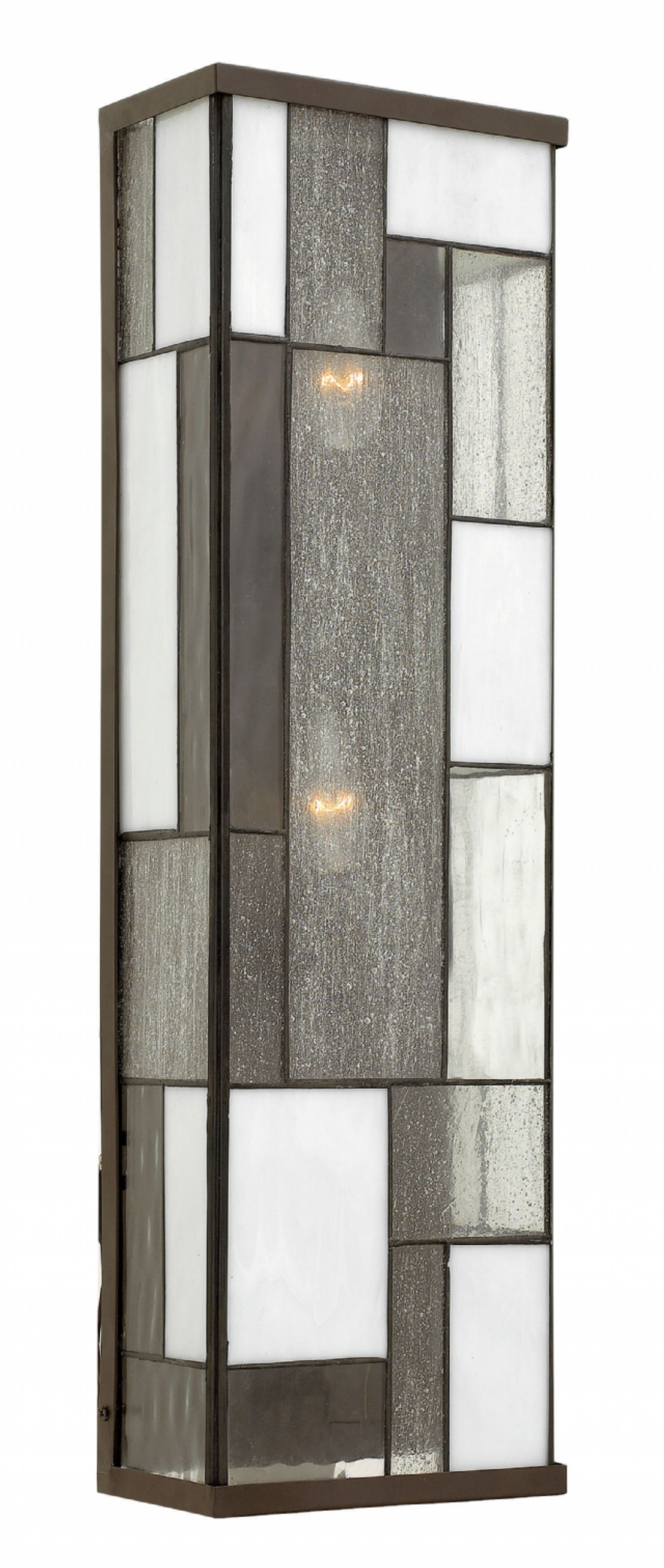 Hinkley Outdoor Wall Lighting For 2018 Buckeye Bronze Mondrian > Exterior Wall Mount (View 18 of 20)