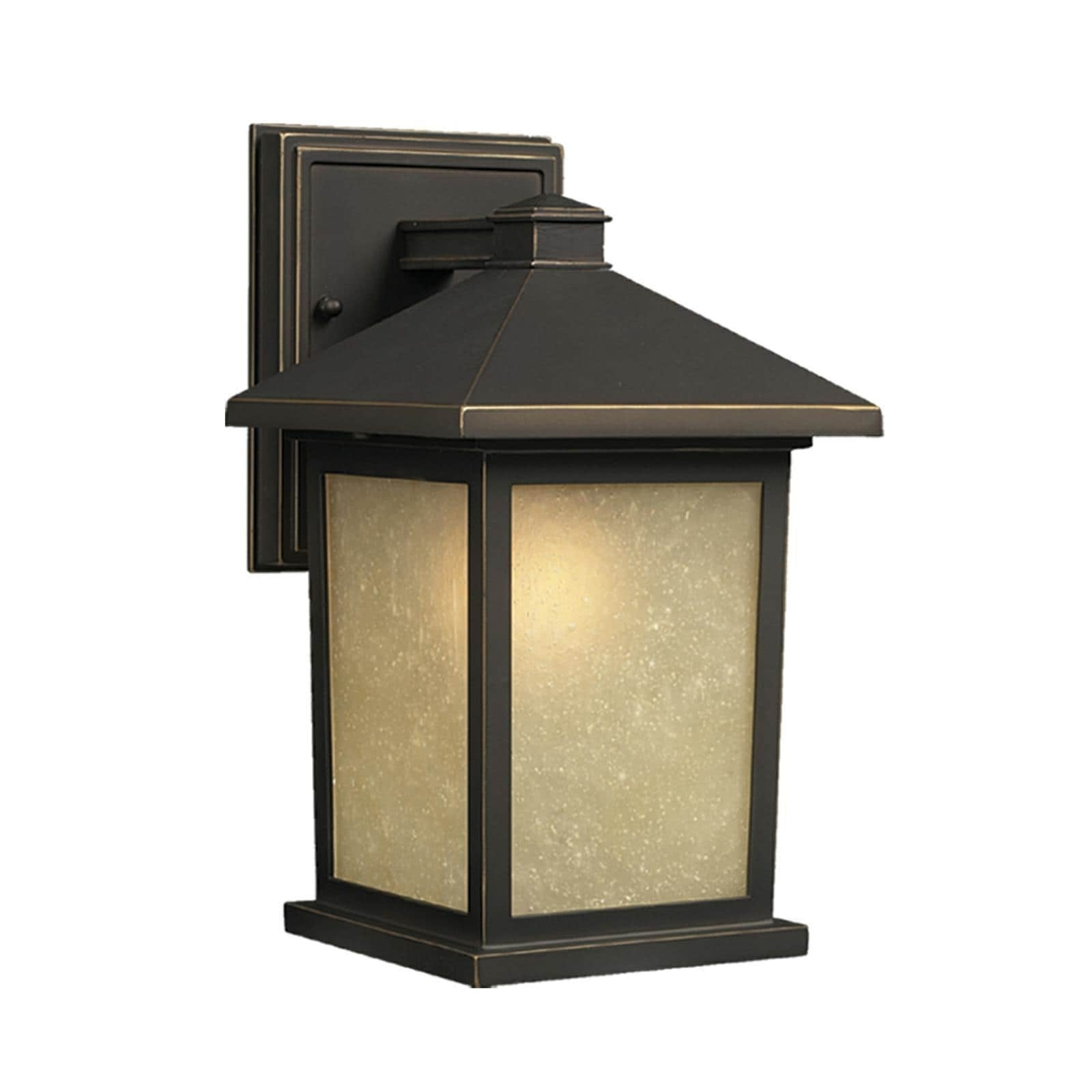 Holbrook 1 Light Oil Rubbed Bronze Outdoor Wall Light – Free Regarding Trendy Oil Rubbed Bronze Outdoor Wall Lights (View 6 of 20)