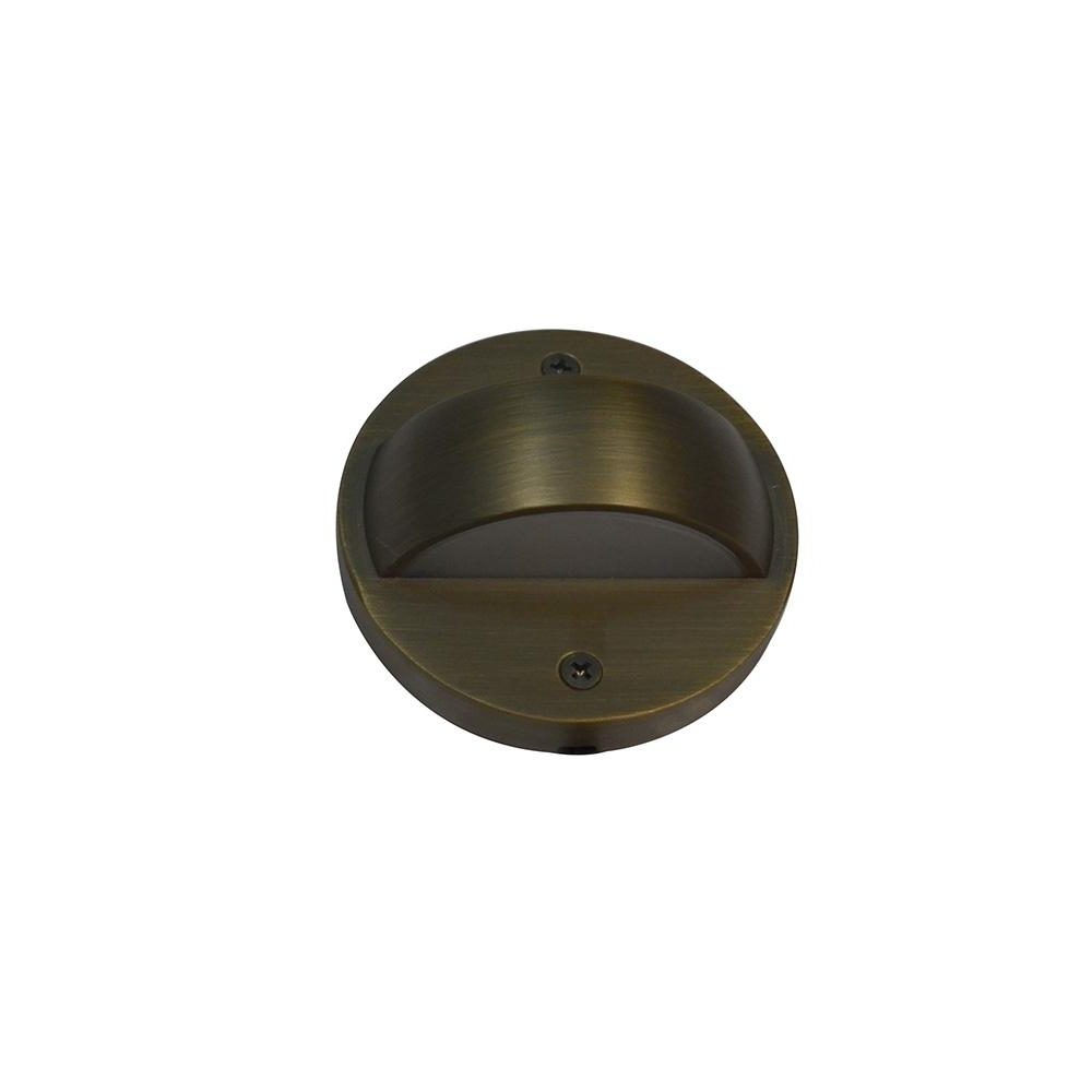 Home Decorators Collection 6 Watt Brass Outdoor Integrated Led 2700K With Regard To Newest Low Voltage Deck Lighting At Home Depot (View 9 of 20)