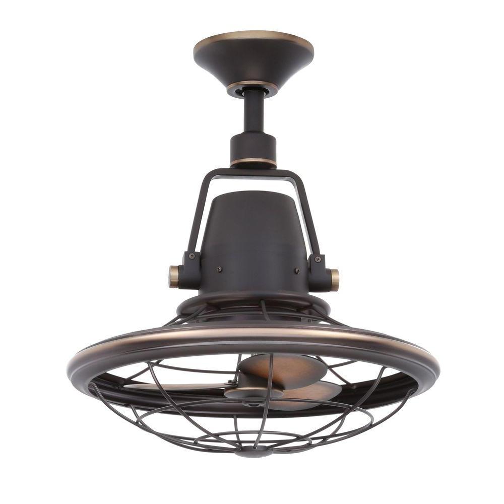 Home Decorators Collection Bentley Ii 18 In. Indoor/outdoor With Fashionable Indoor Outdoor Ceiling Fans Lights (Gallery 18 of 20)