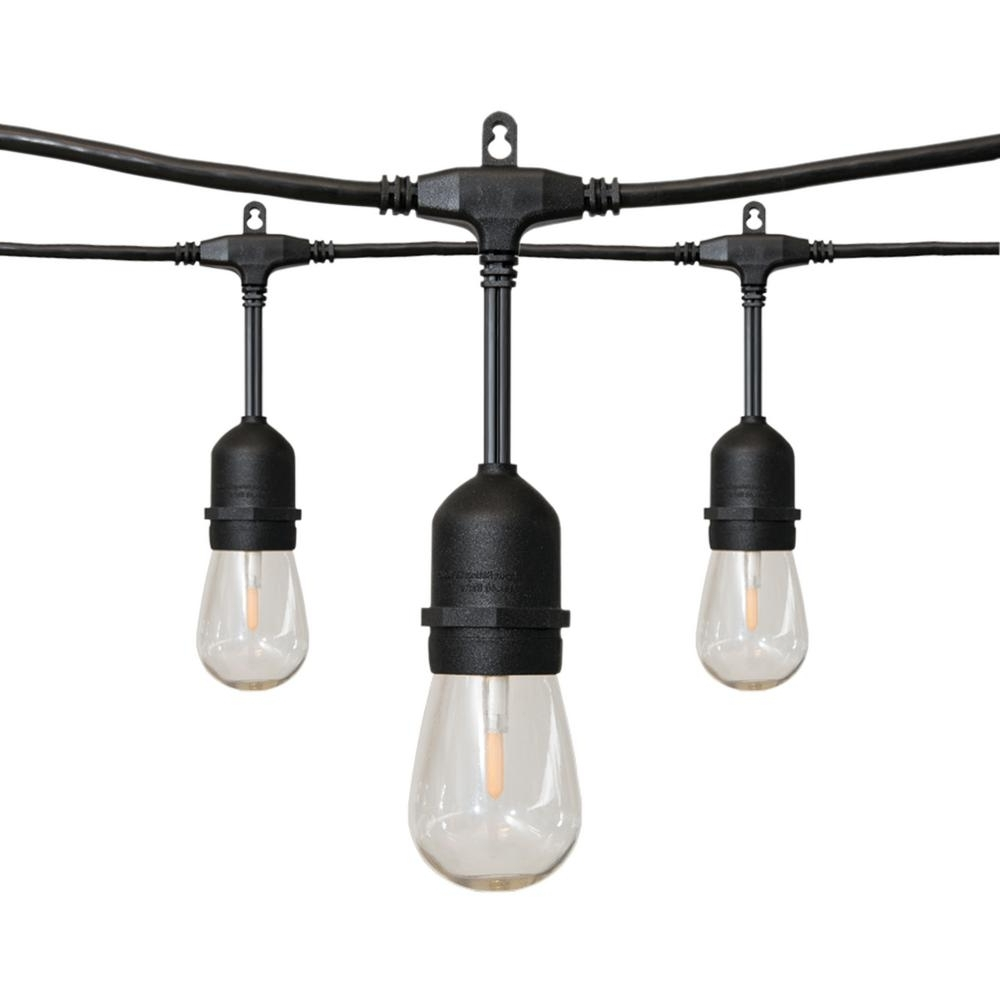 Home Depot Outdoor String Lights With Trendy 24 Ft (View 4 of 20)