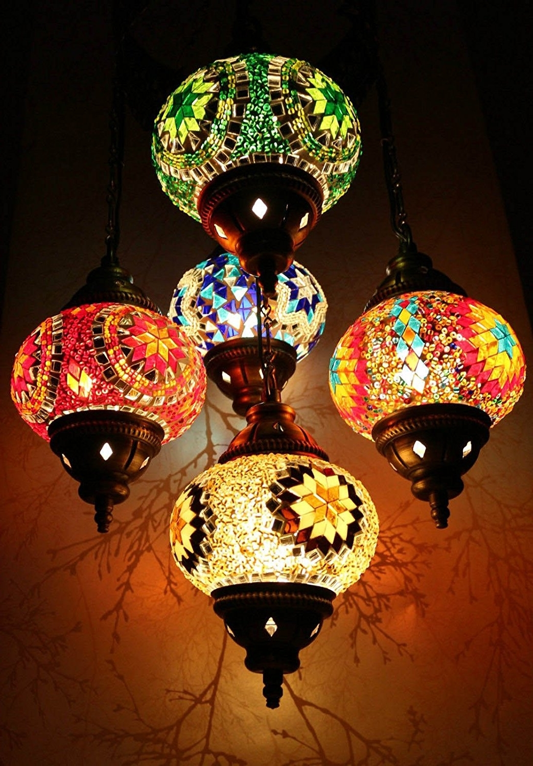 Home Design : Exquisite Moroccan Chandeliers Lighting Fixtures Regarding Current Outdoor Hanging Moroccan Lanterns (View 7 of 20)